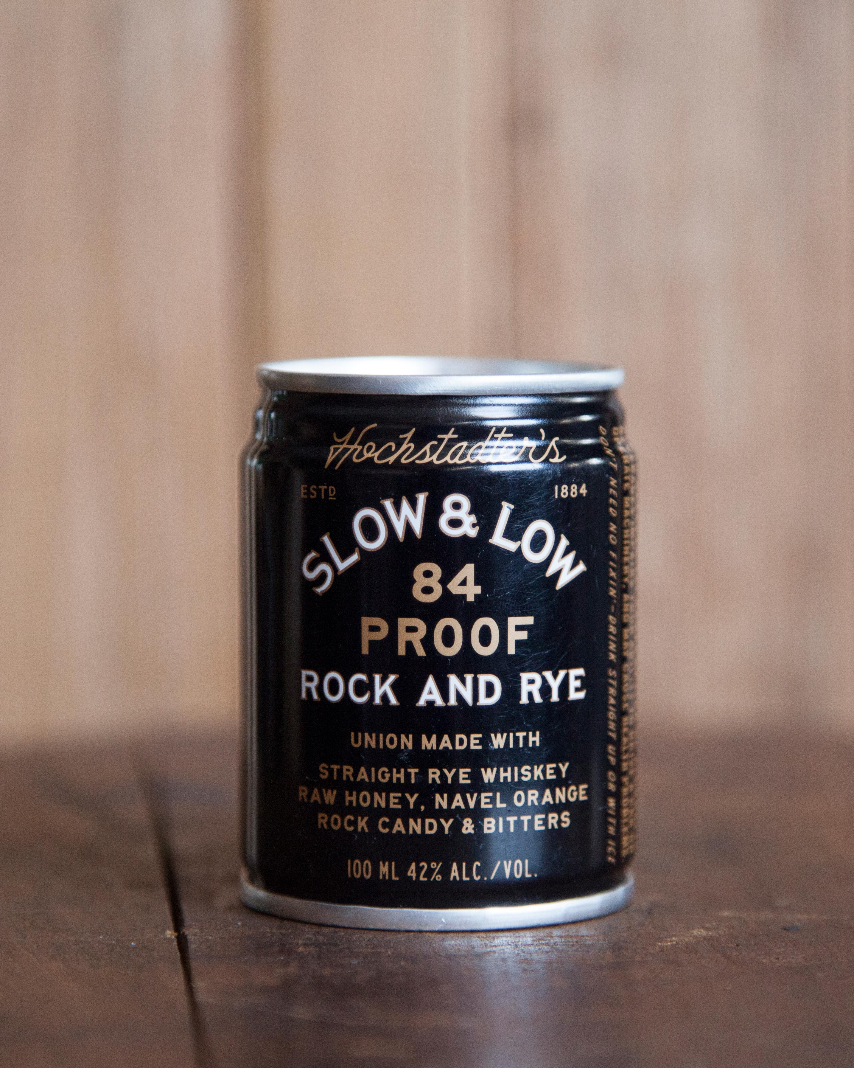 slow and low rye