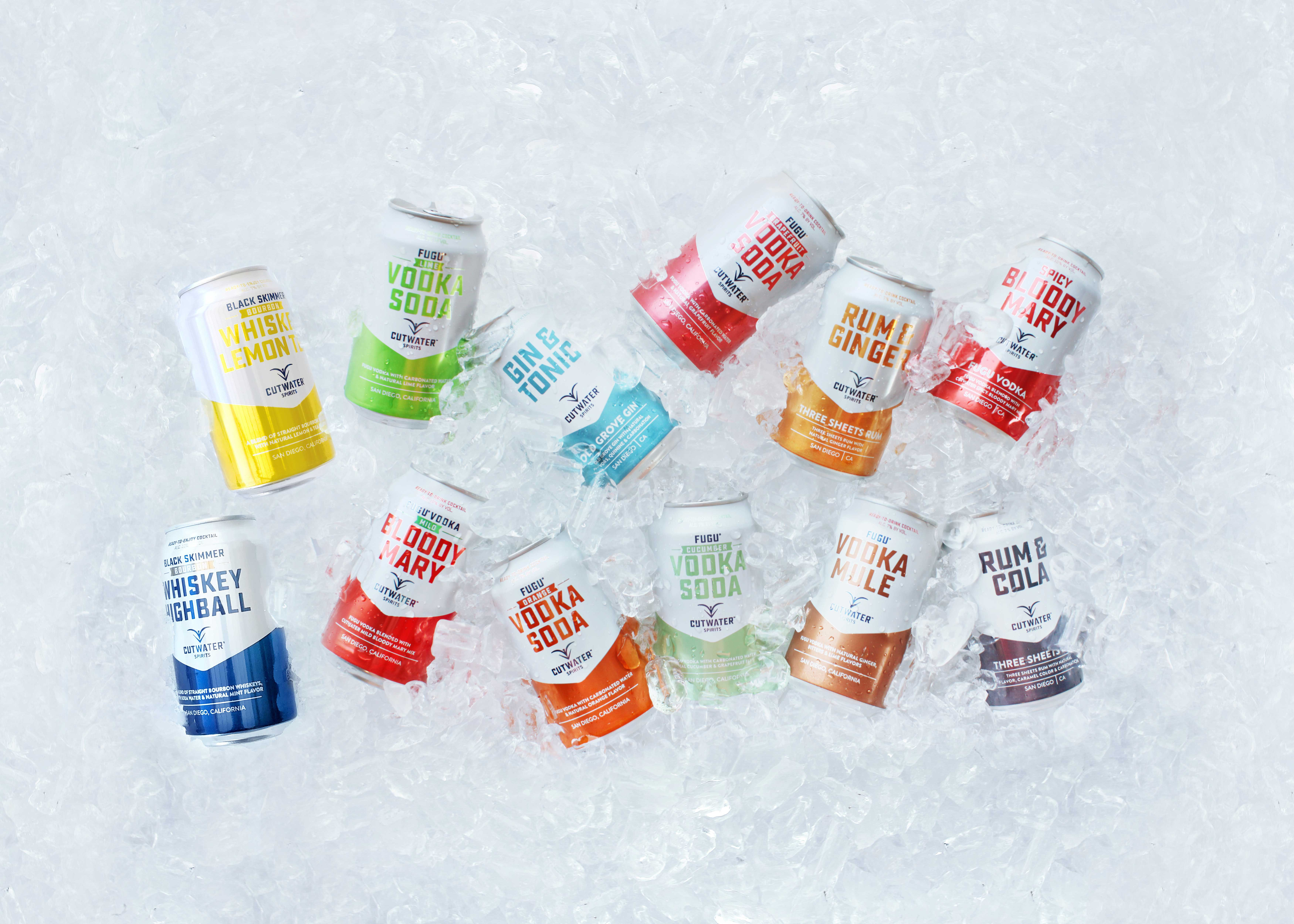 cocktail cans