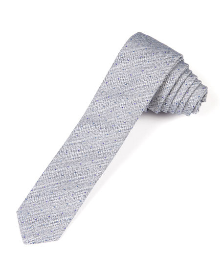 ring bearer speckled and striped blue tie