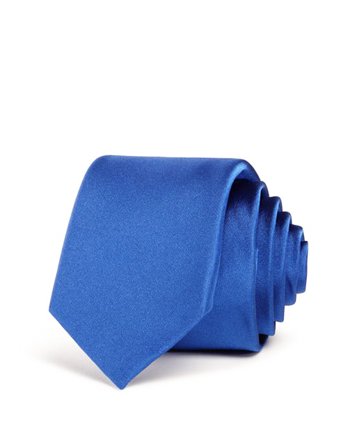 ring bearer solid blue tie rolled