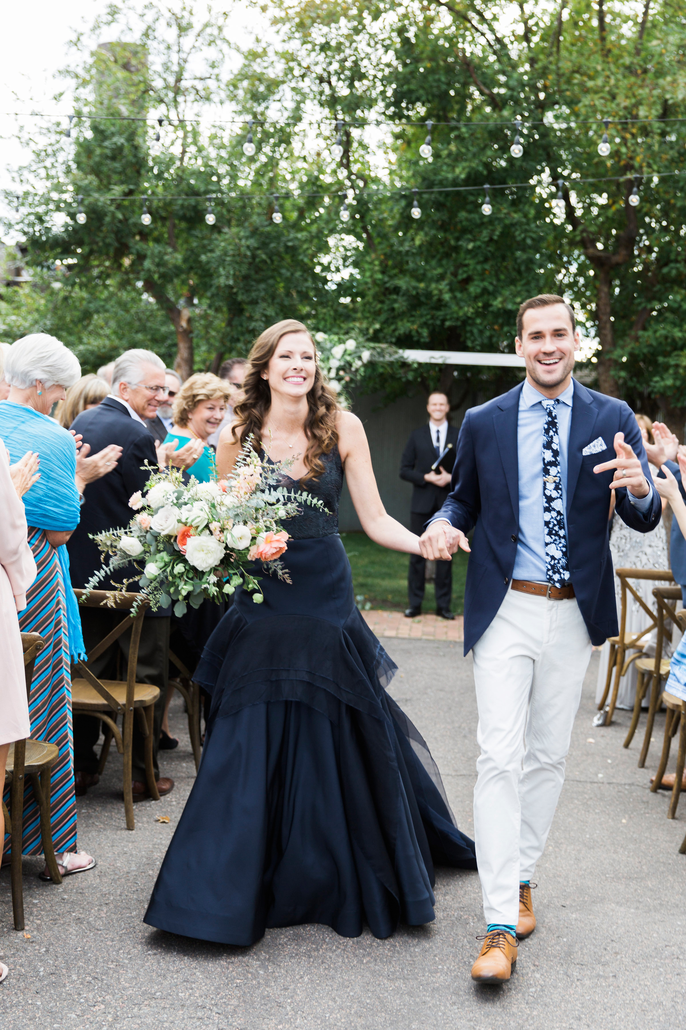 wedding ceremony recessional