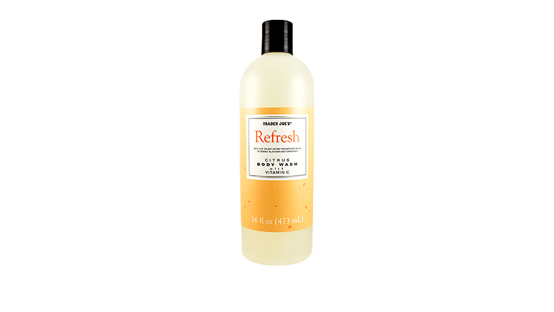 trader joes beauty citrus body wash