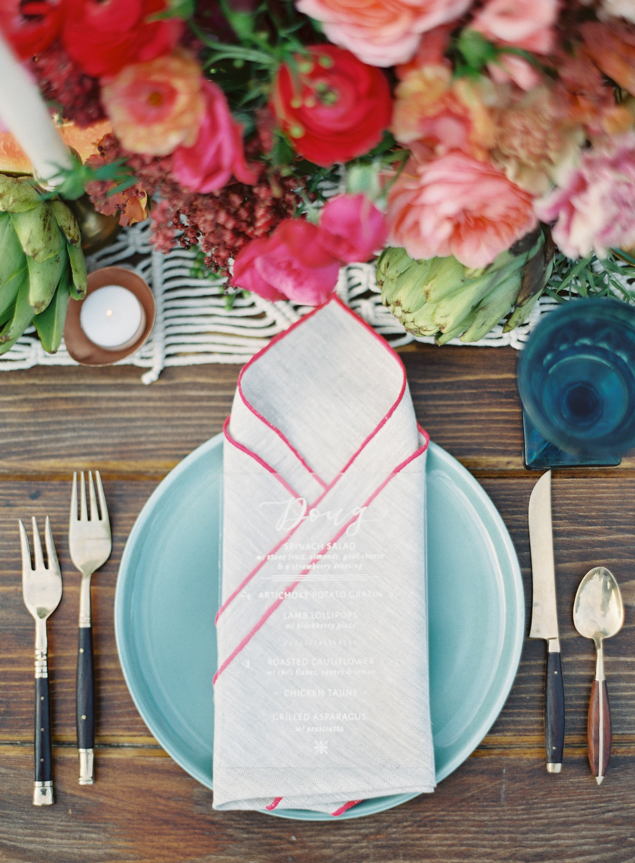 wedding placesetting