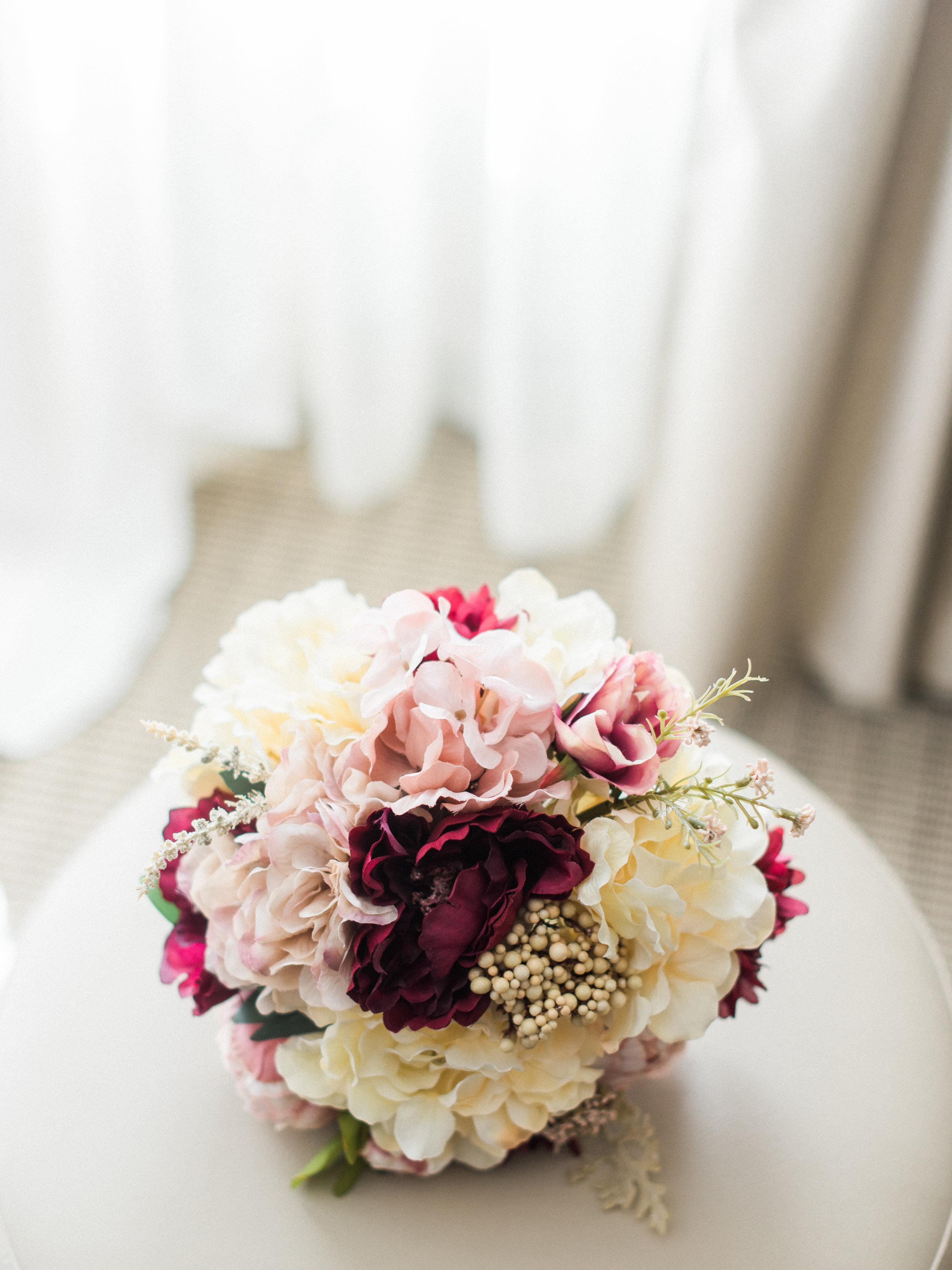 shanice & stephen wedding bouquet