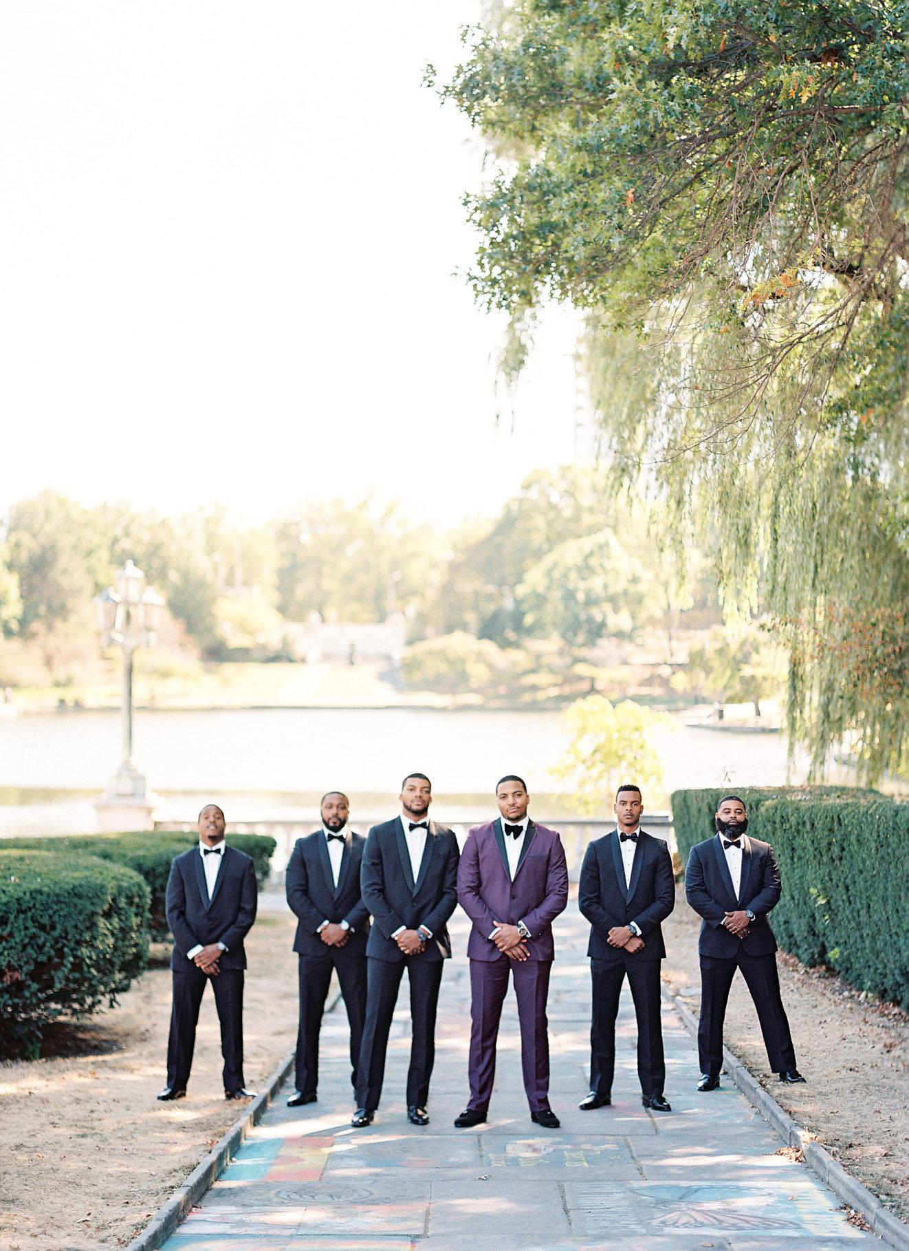 shanice & stephen wedding groomsmen