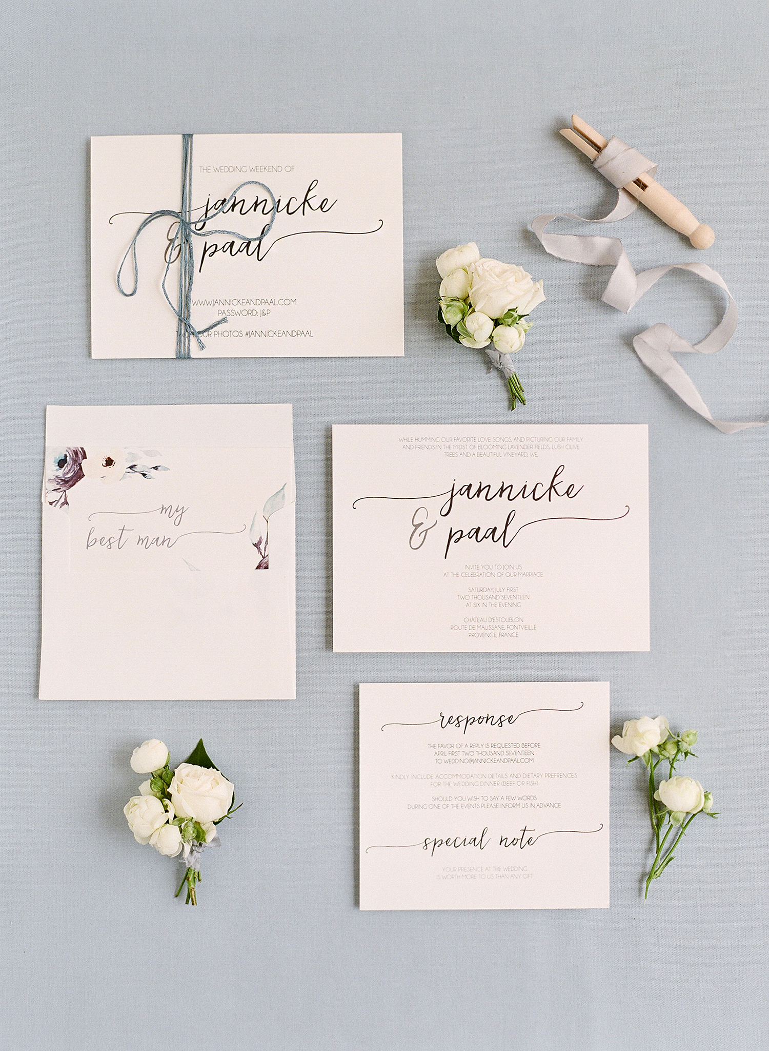 jannicke paal france wedding stationery