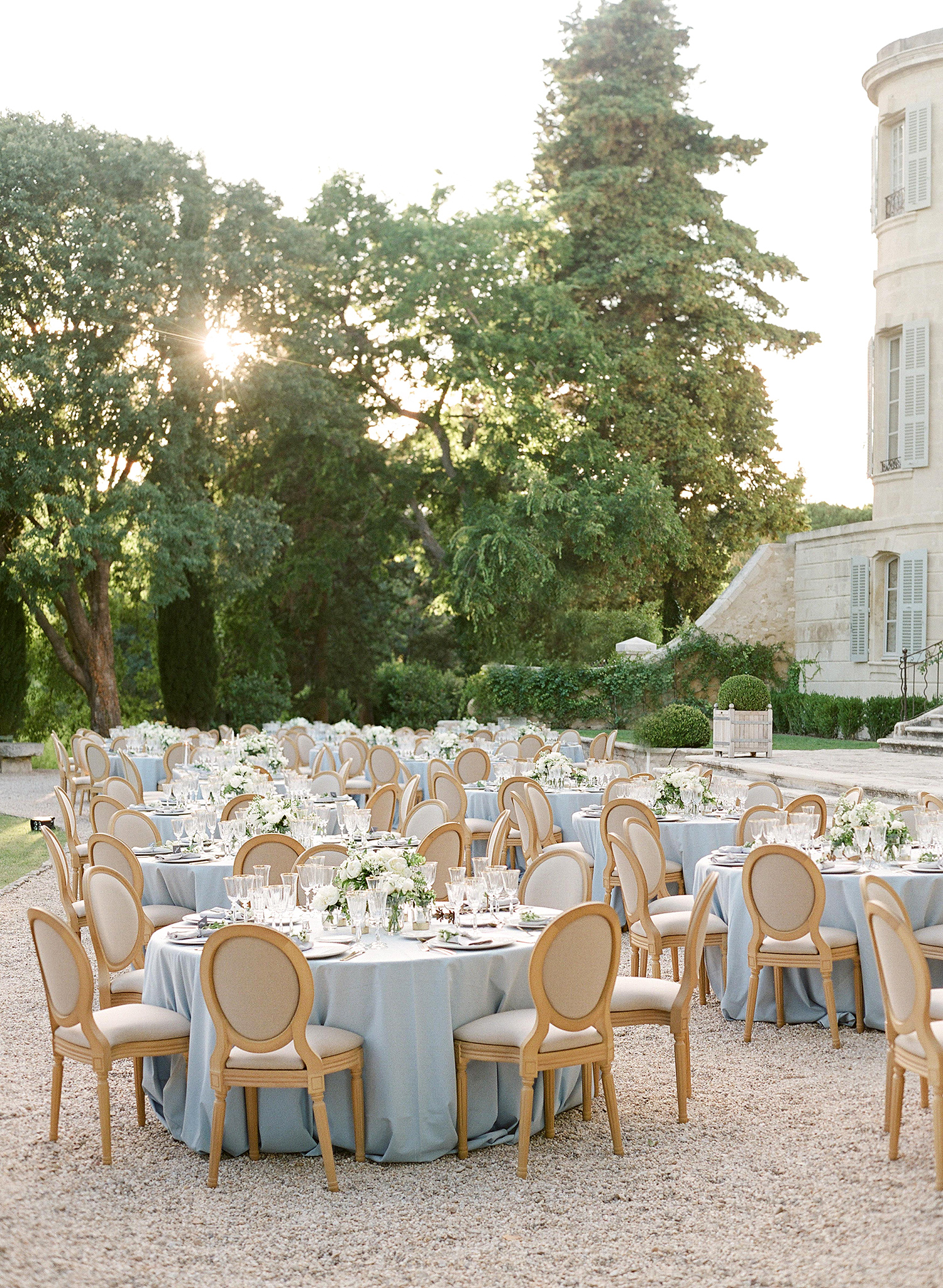 jannicke paal france wedding reception tables