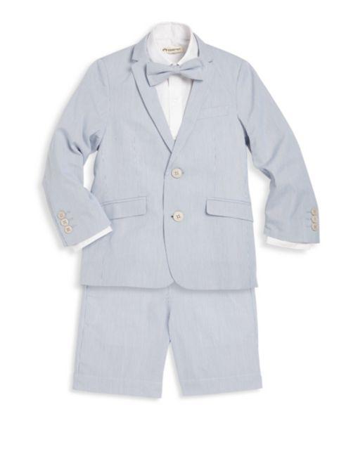 Appaman Blue Bengal Stripe Suit