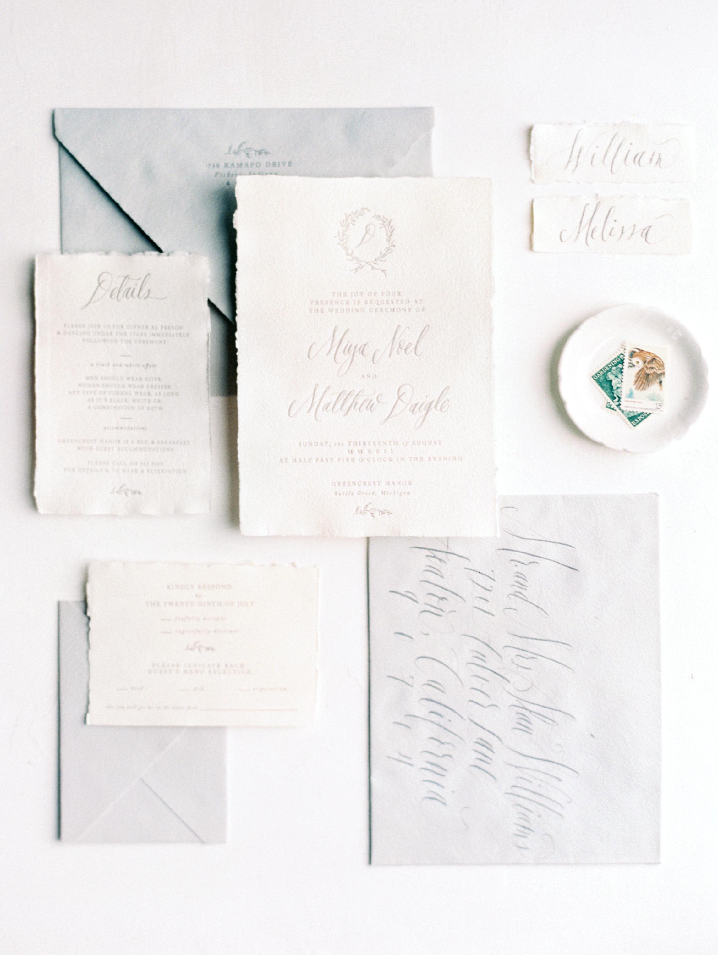 miya matthew wedding stationery