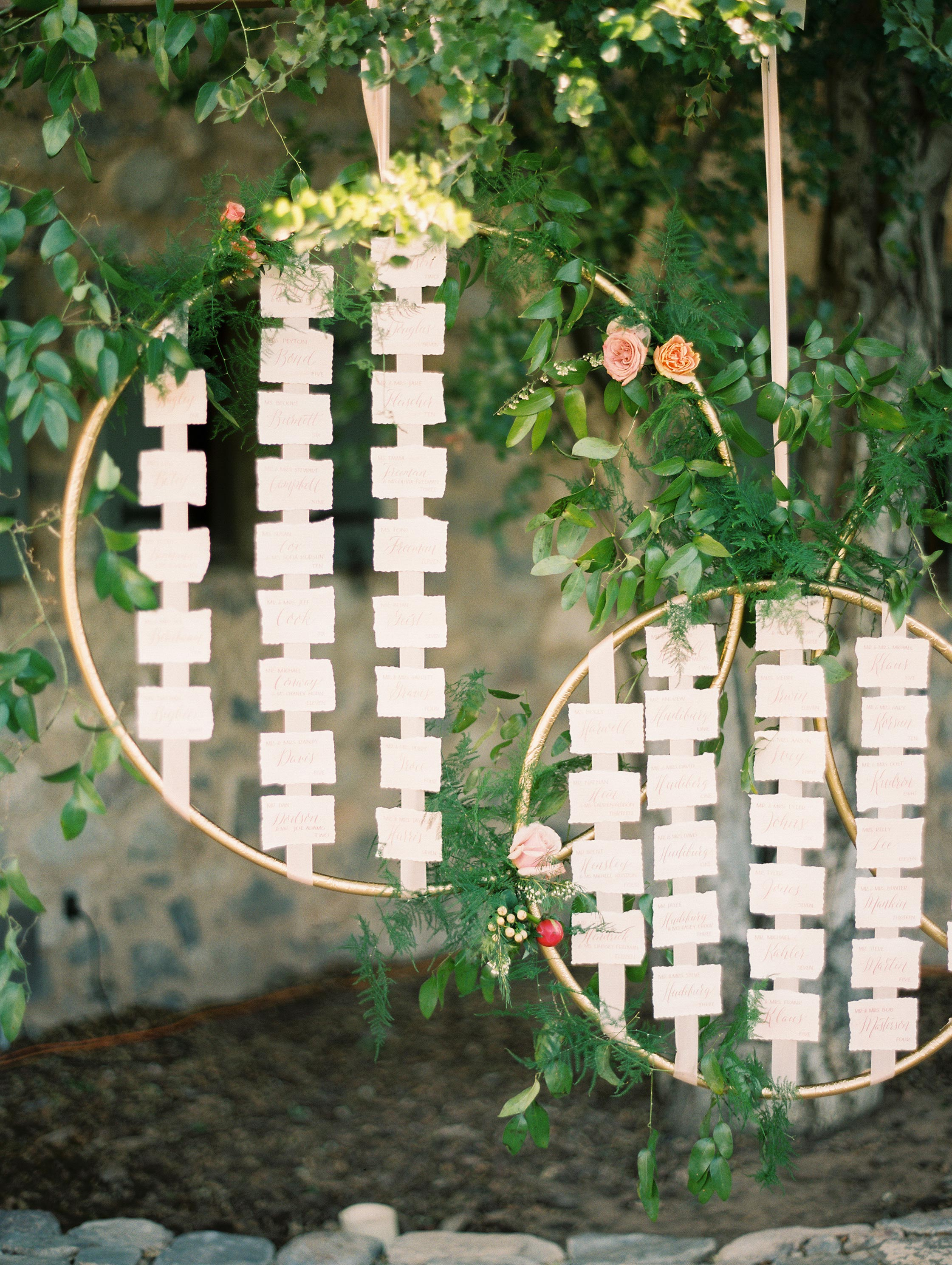 hoop escort cards
