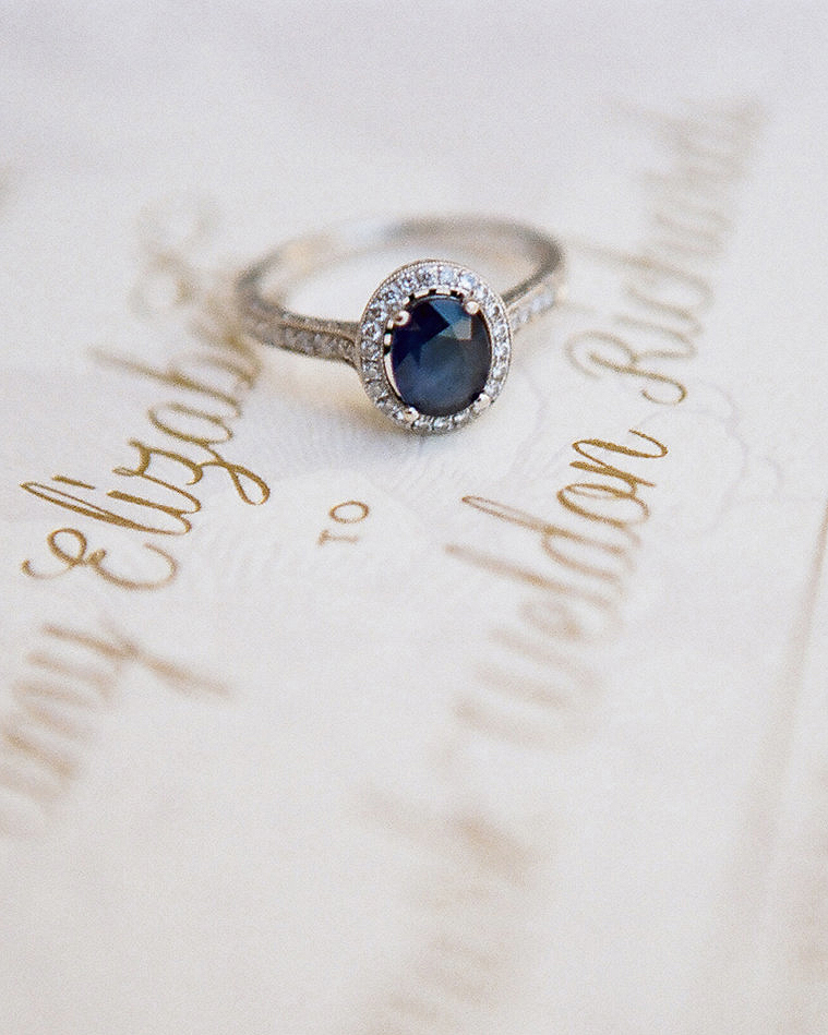 A Sapphire Engagement