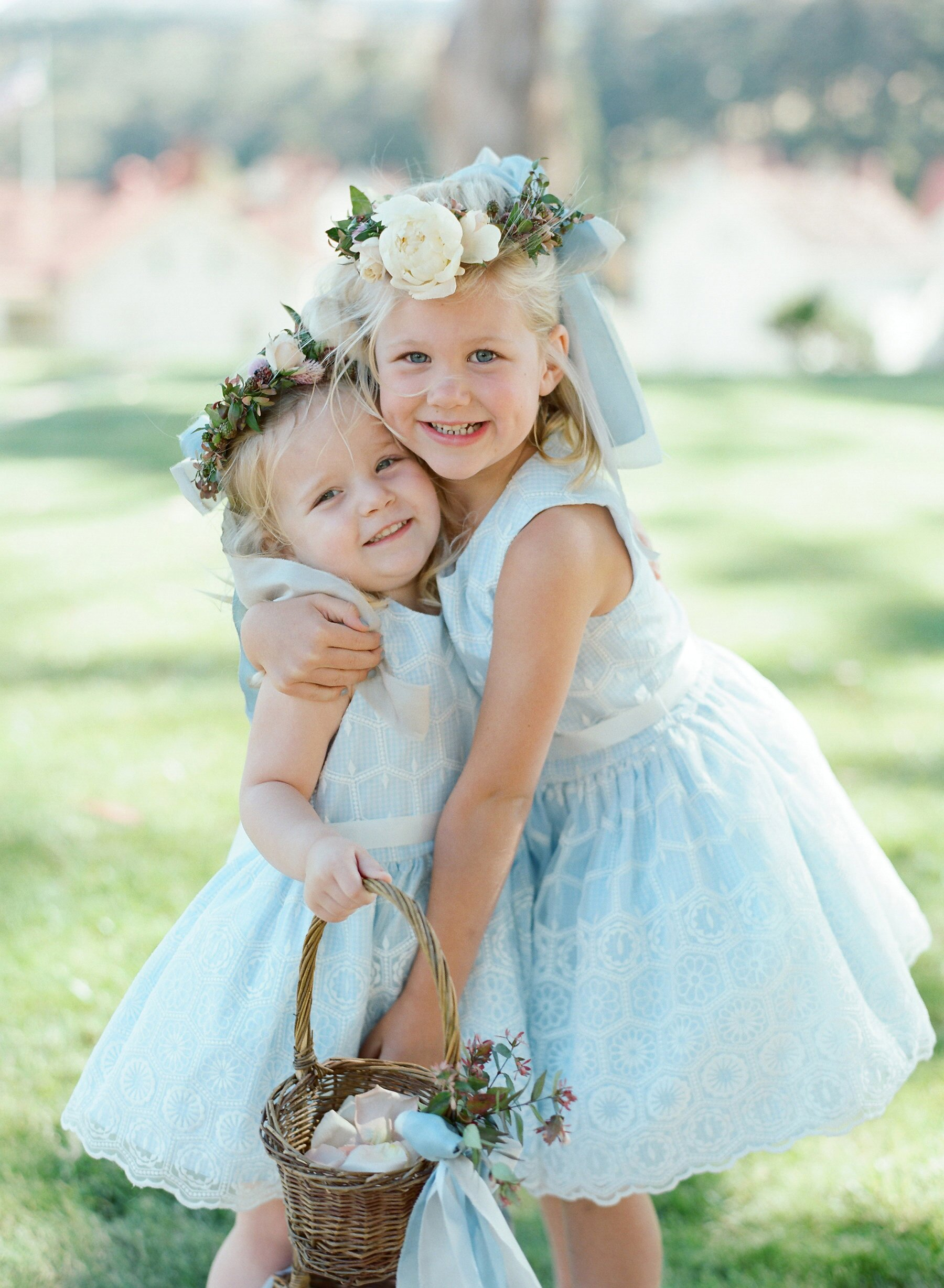20 Baby Blue Flower Girl Dresses Martha Stewart Weddings