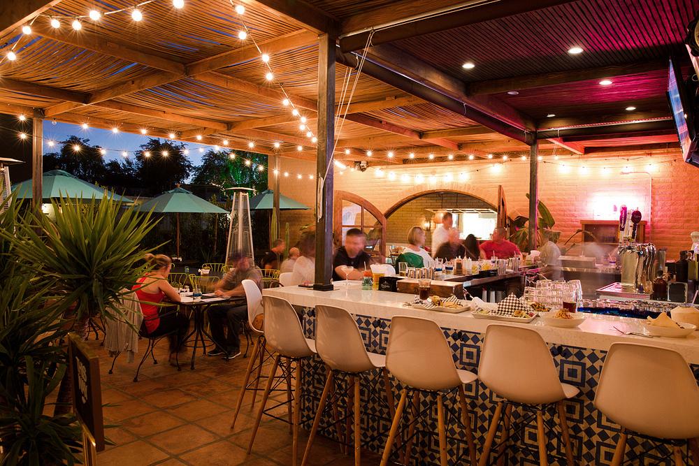 outdoor patio restaurant
