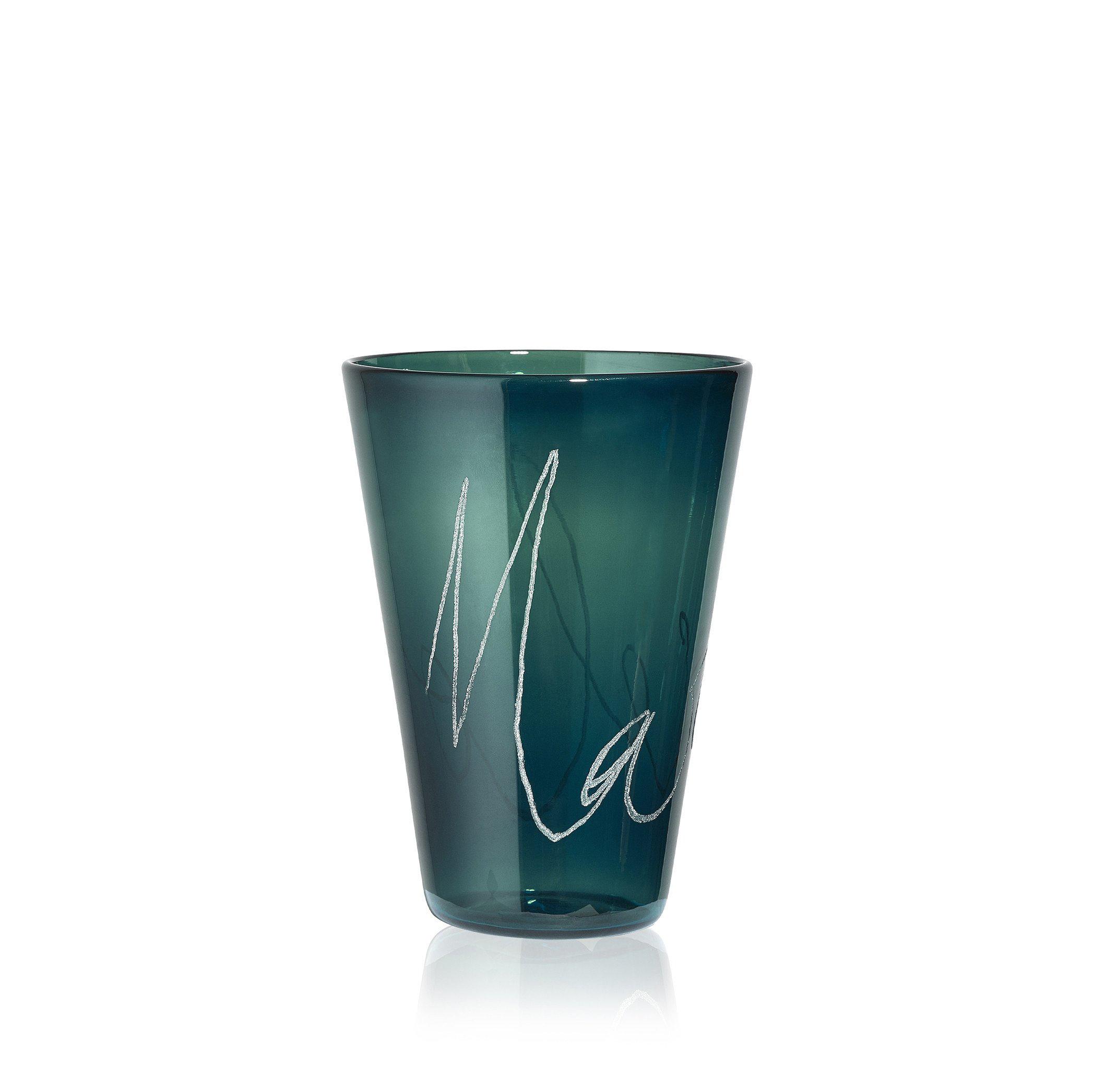 custom glass cup