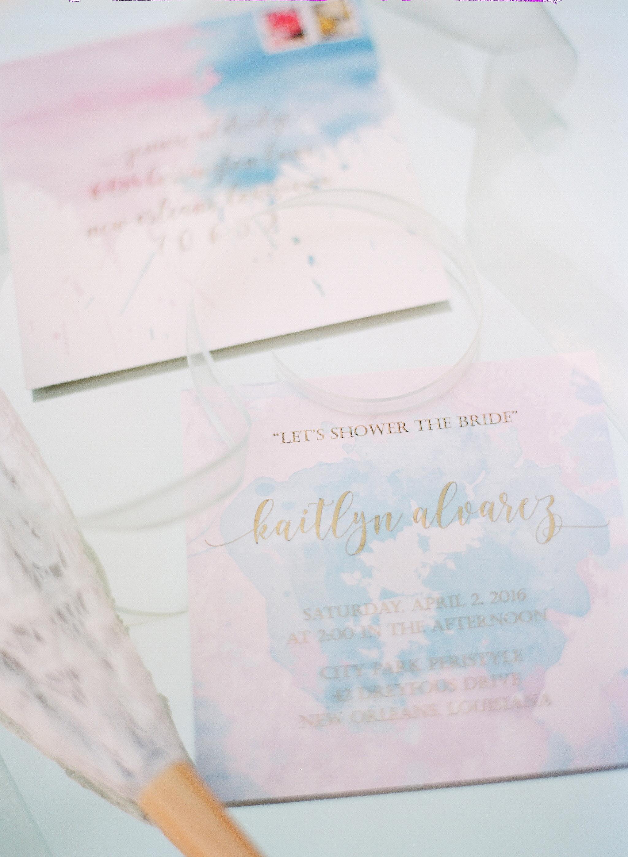 bridal shower invitations arte devie