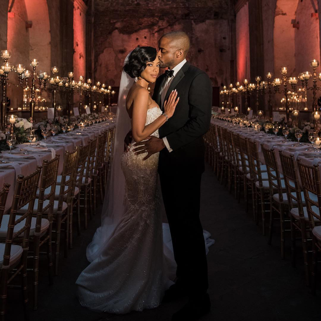 Dulé Hill and Jazmyn Simon Married
