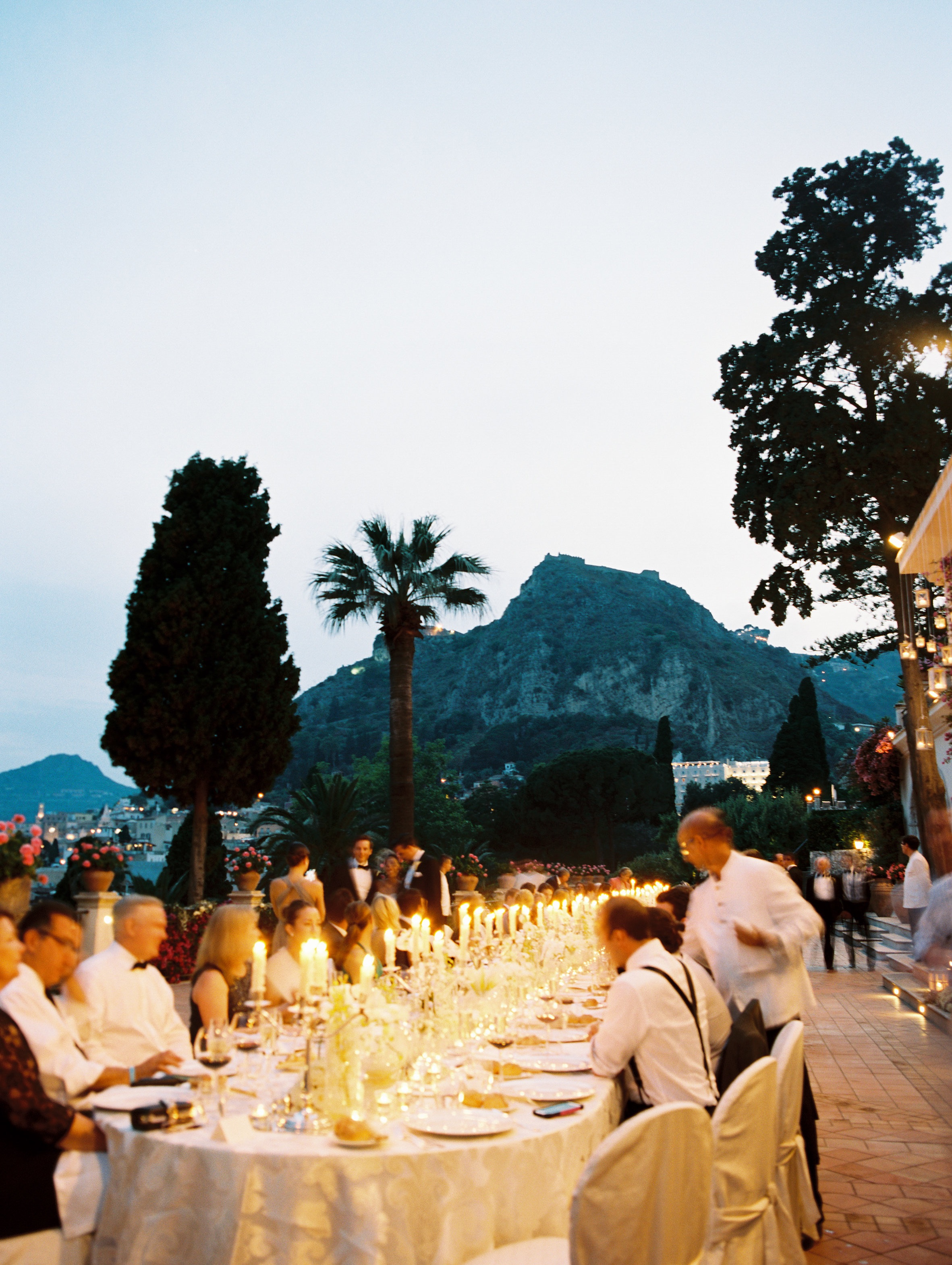 reception dinner