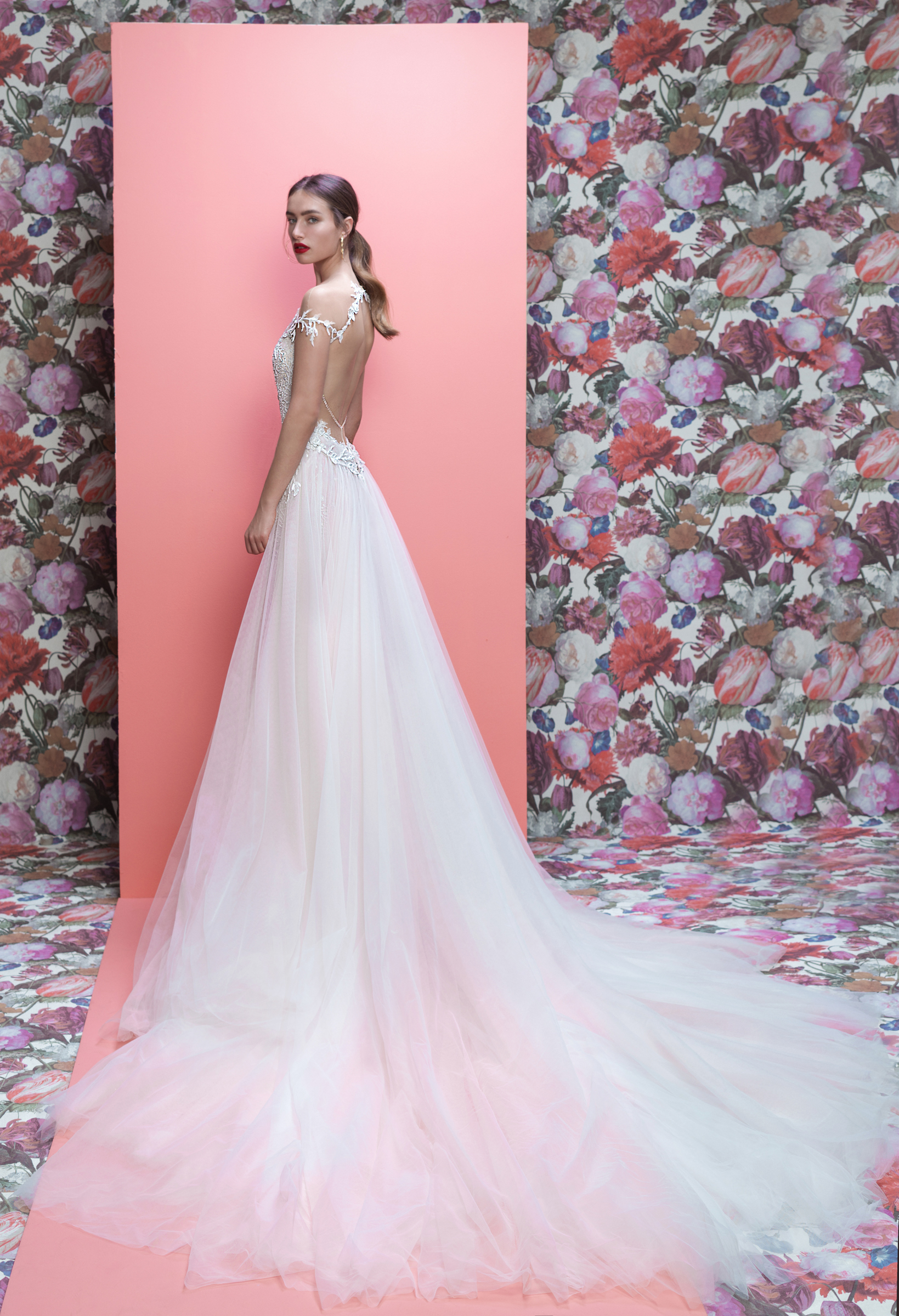 Galia Lahav wedding dress spring 2019 off-the-shoulder a-line