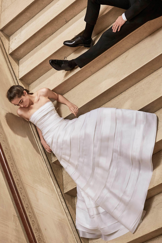 Carolina Herrera wedding dress spring 2019 strapless a-line