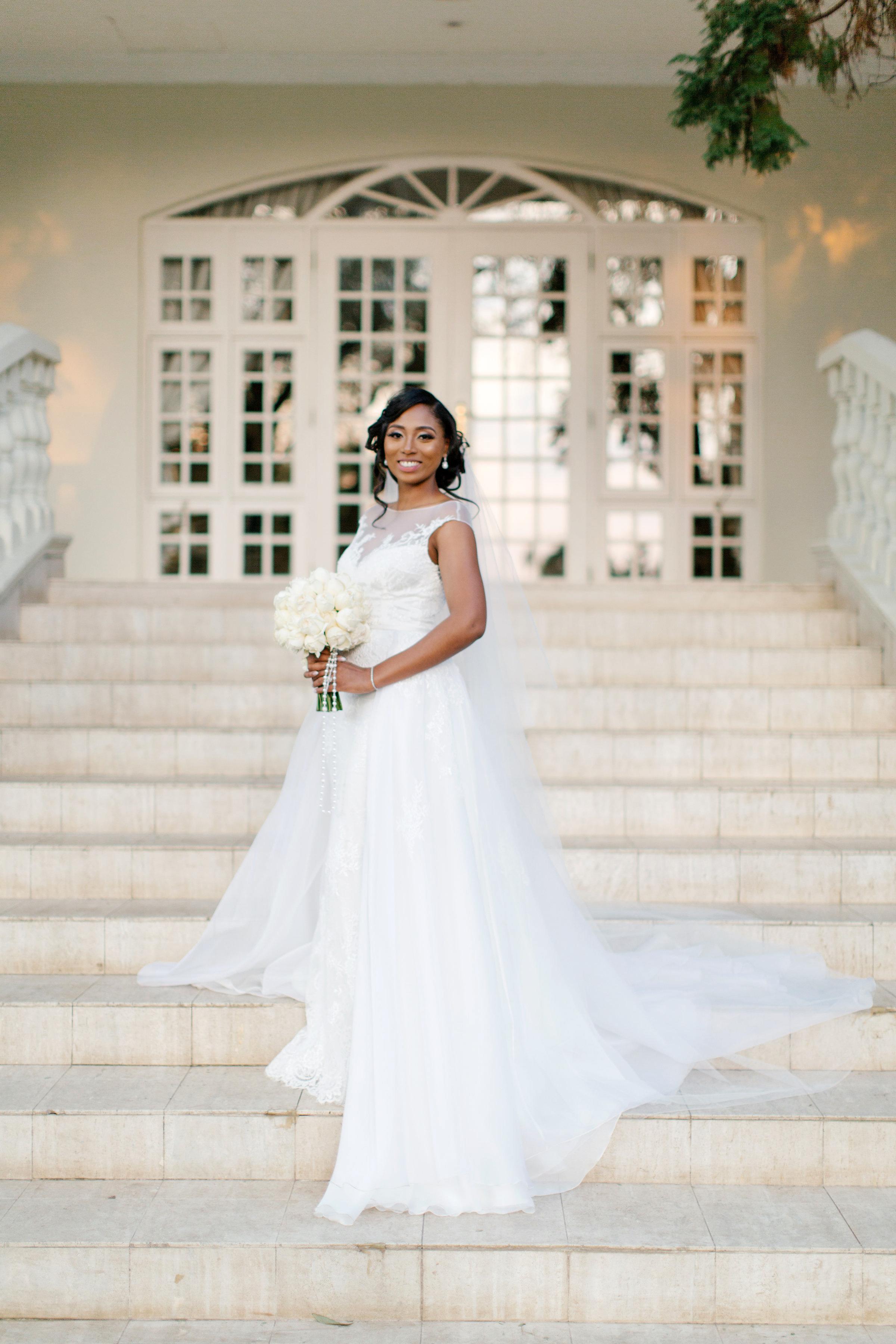 chloe shayo south africa wedding bride dress steps