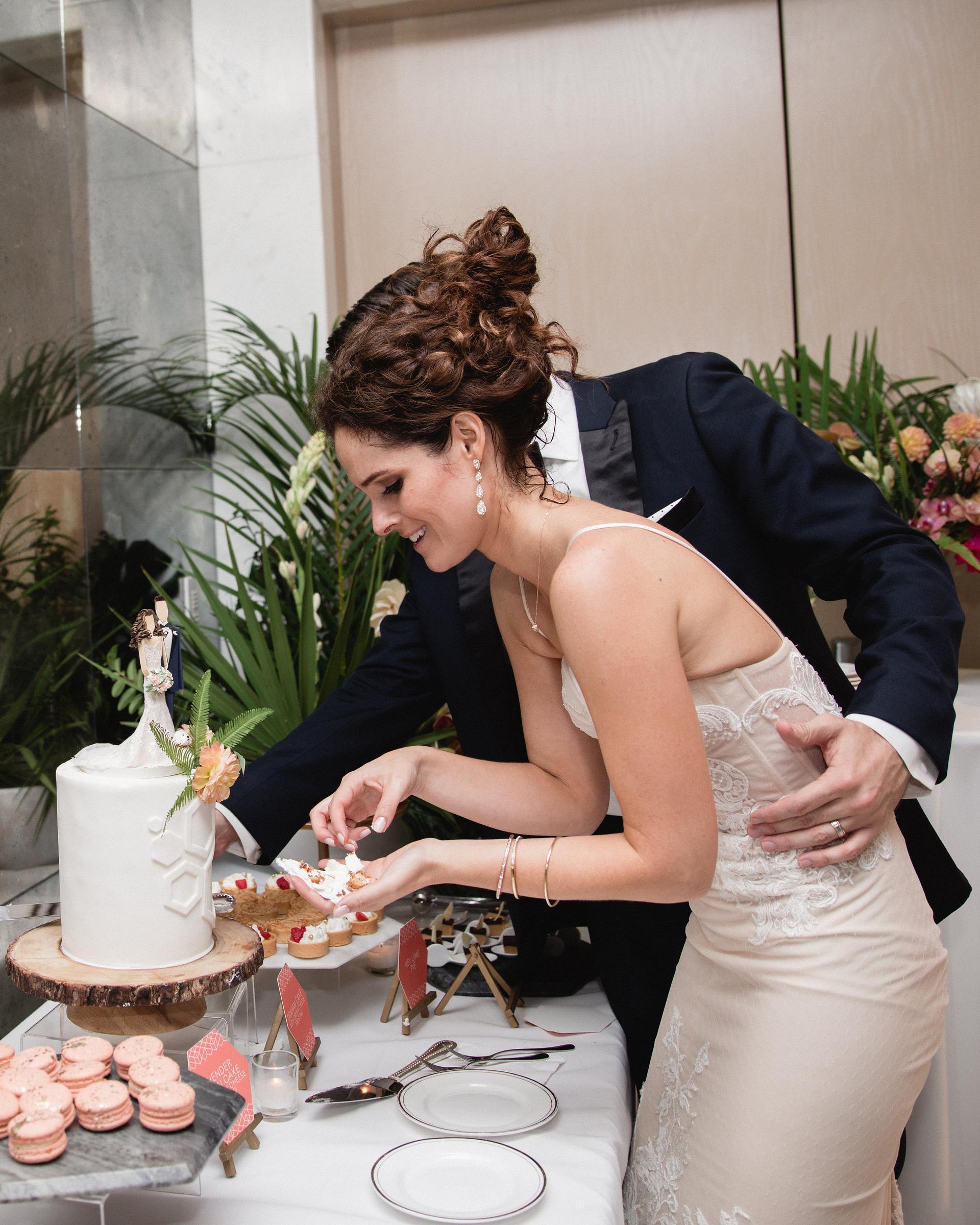 wedding cake desserts