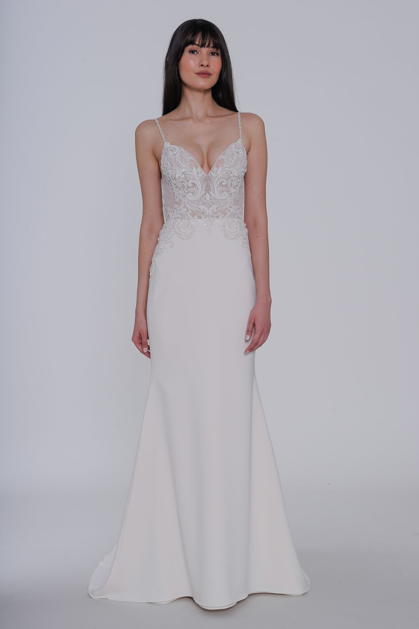 """lazaro"" elena wedding dress spring 2019"