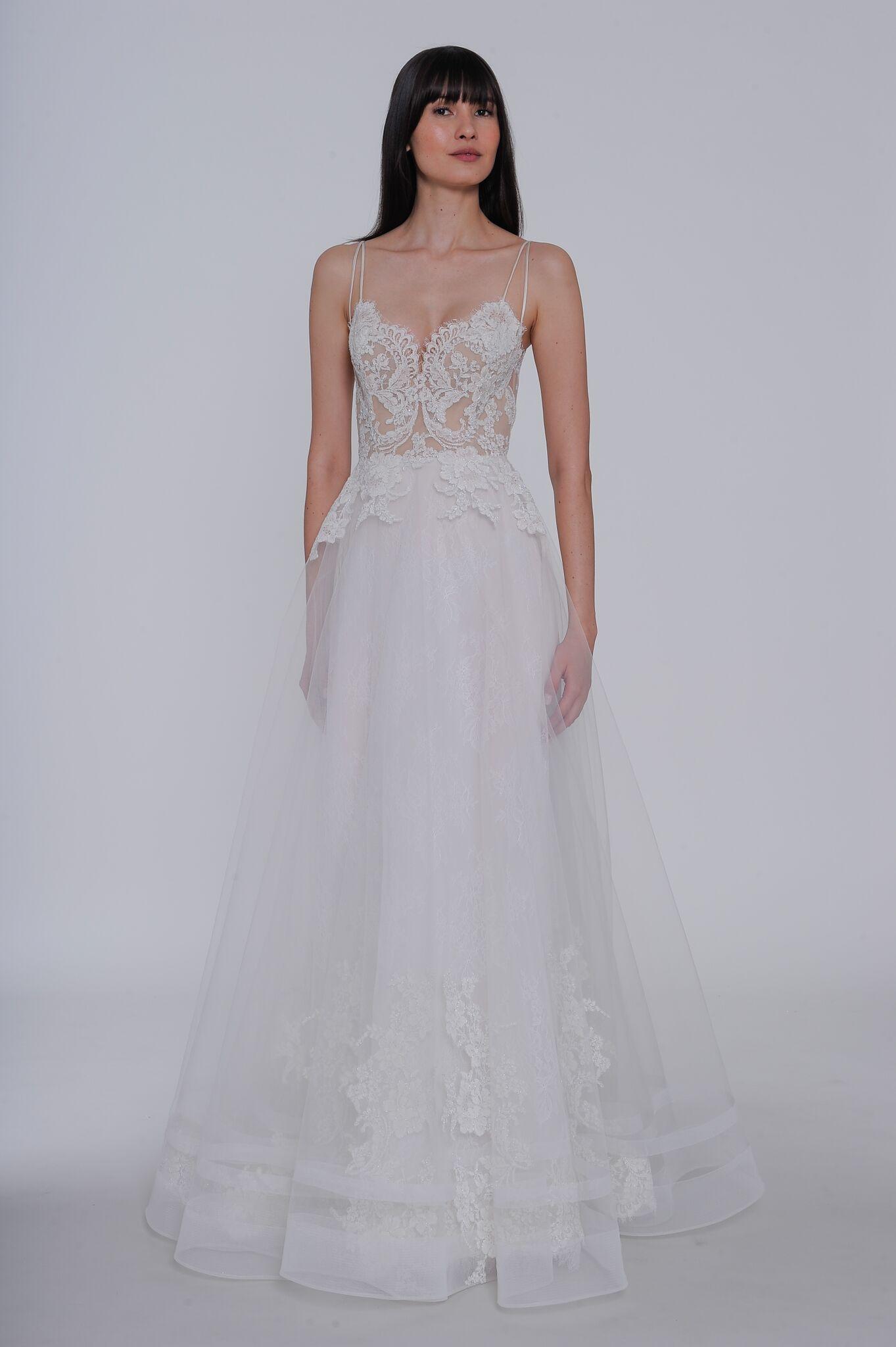 "lazaro ""estelle"" wedding dress spring 2019"