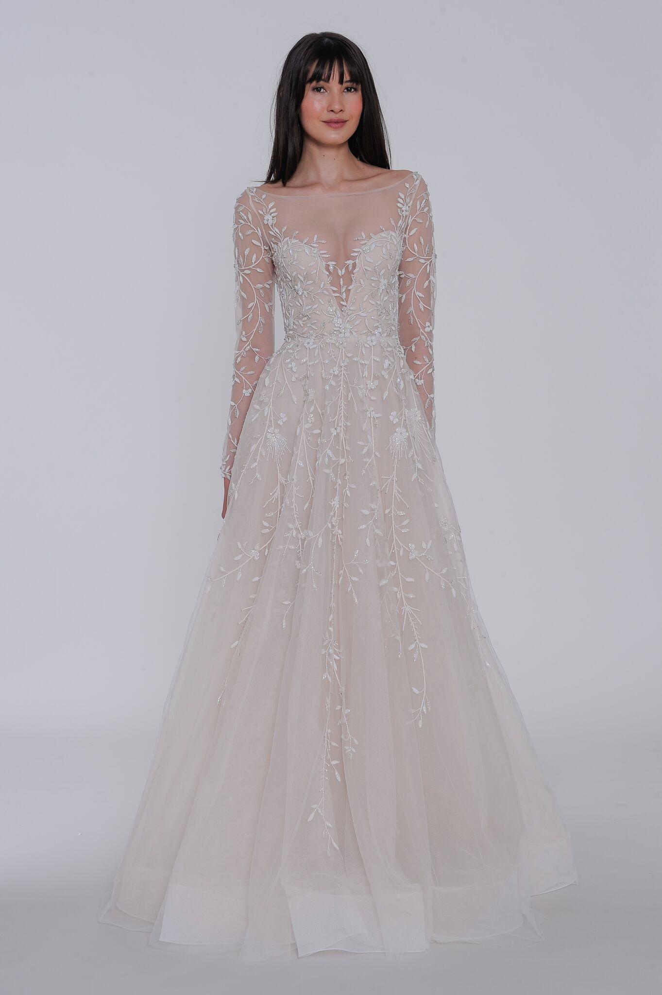 """lazaro """"isabela"""" wedding dress spring 2019"""