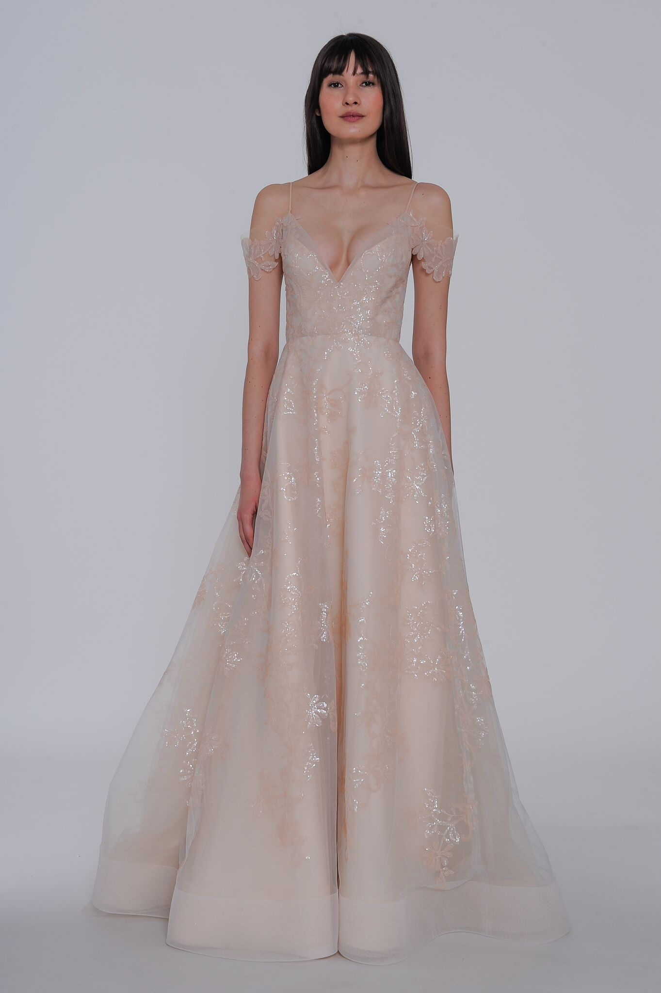 "lazaro ""natalia"" wedding dress spring 2019"