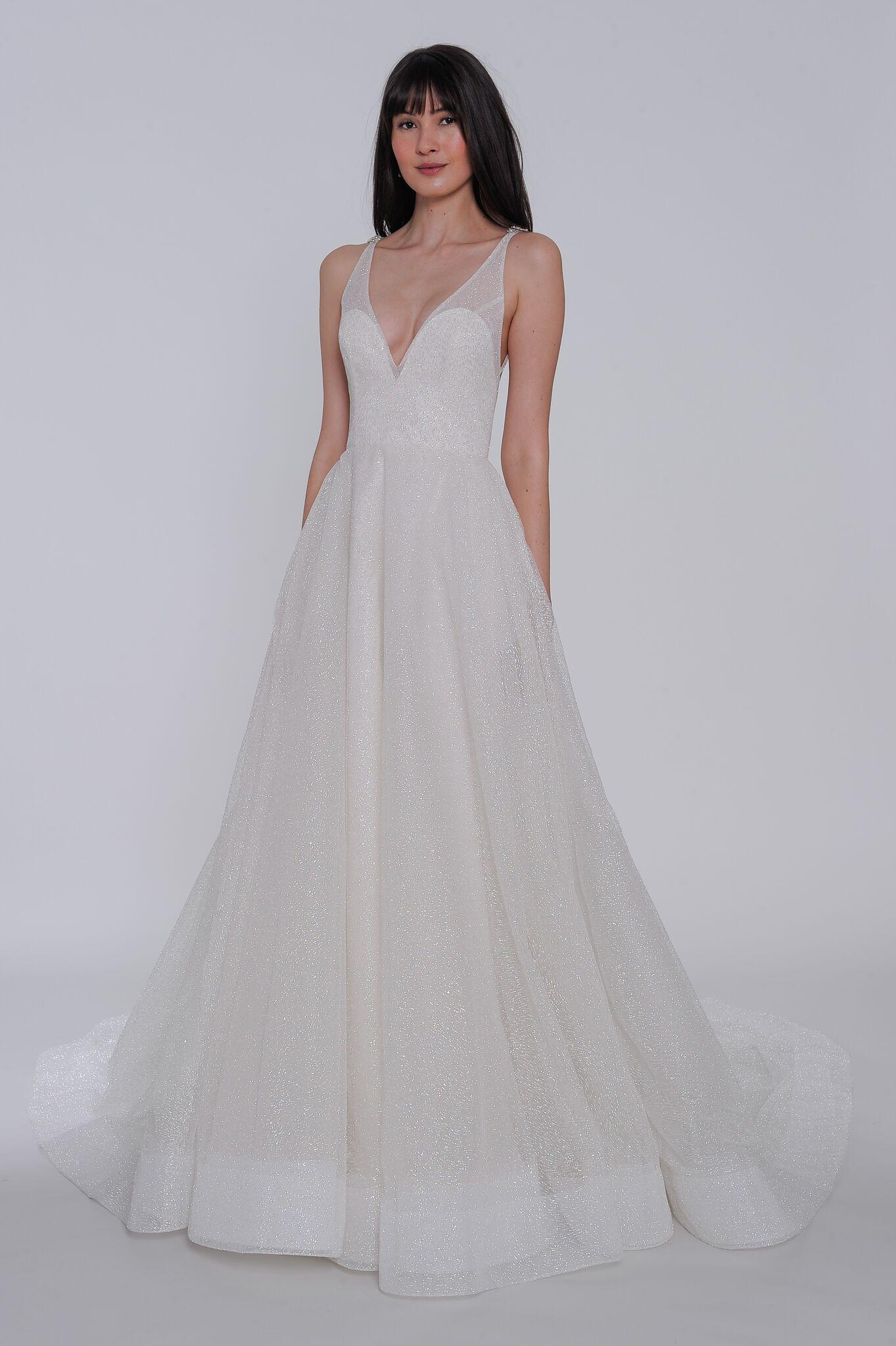 """lazaro """"yesi"""" wedding dress spring 2019"""