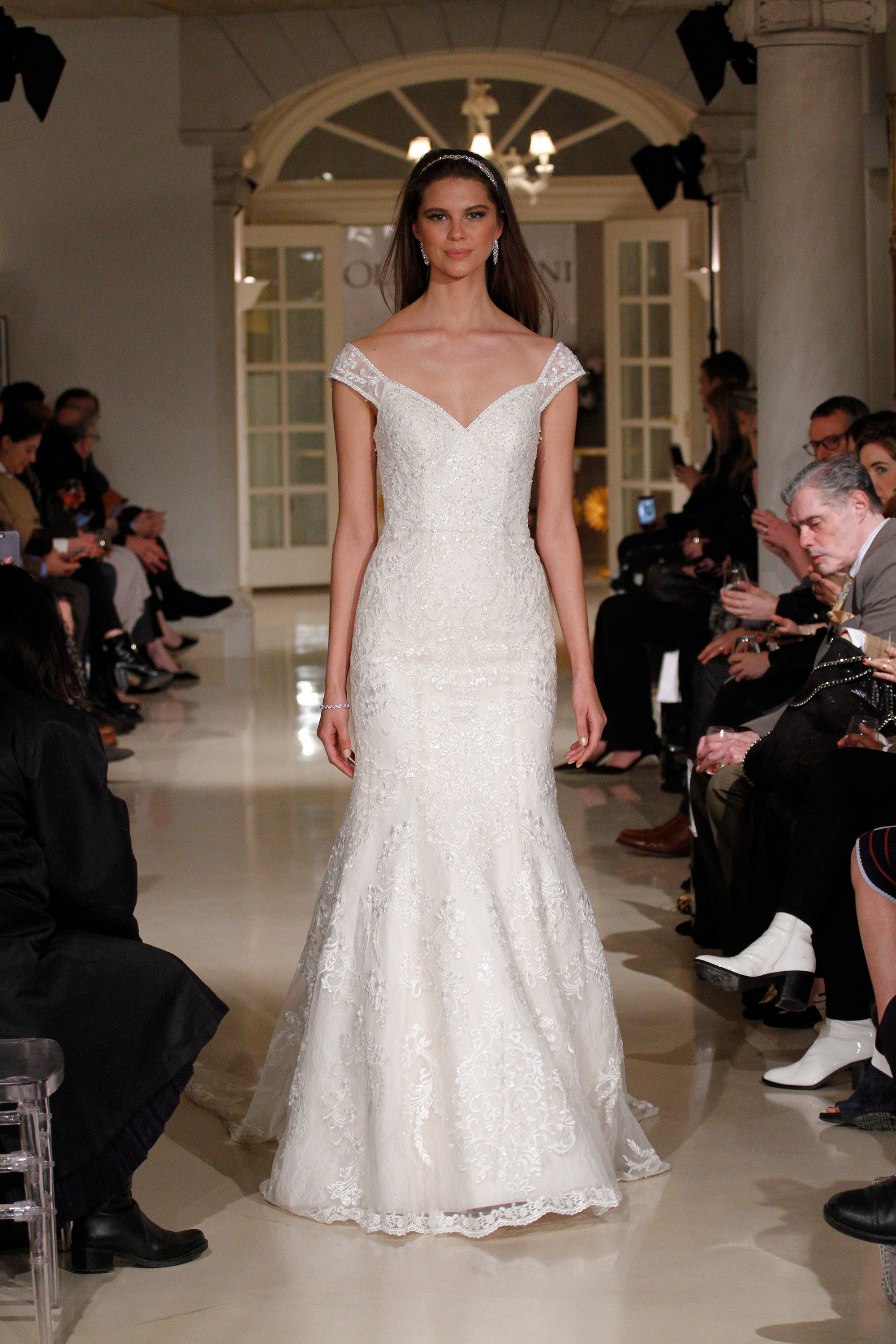 Oleg Cassini Spring 2019 Wedding Dress Collection Martha Stewart