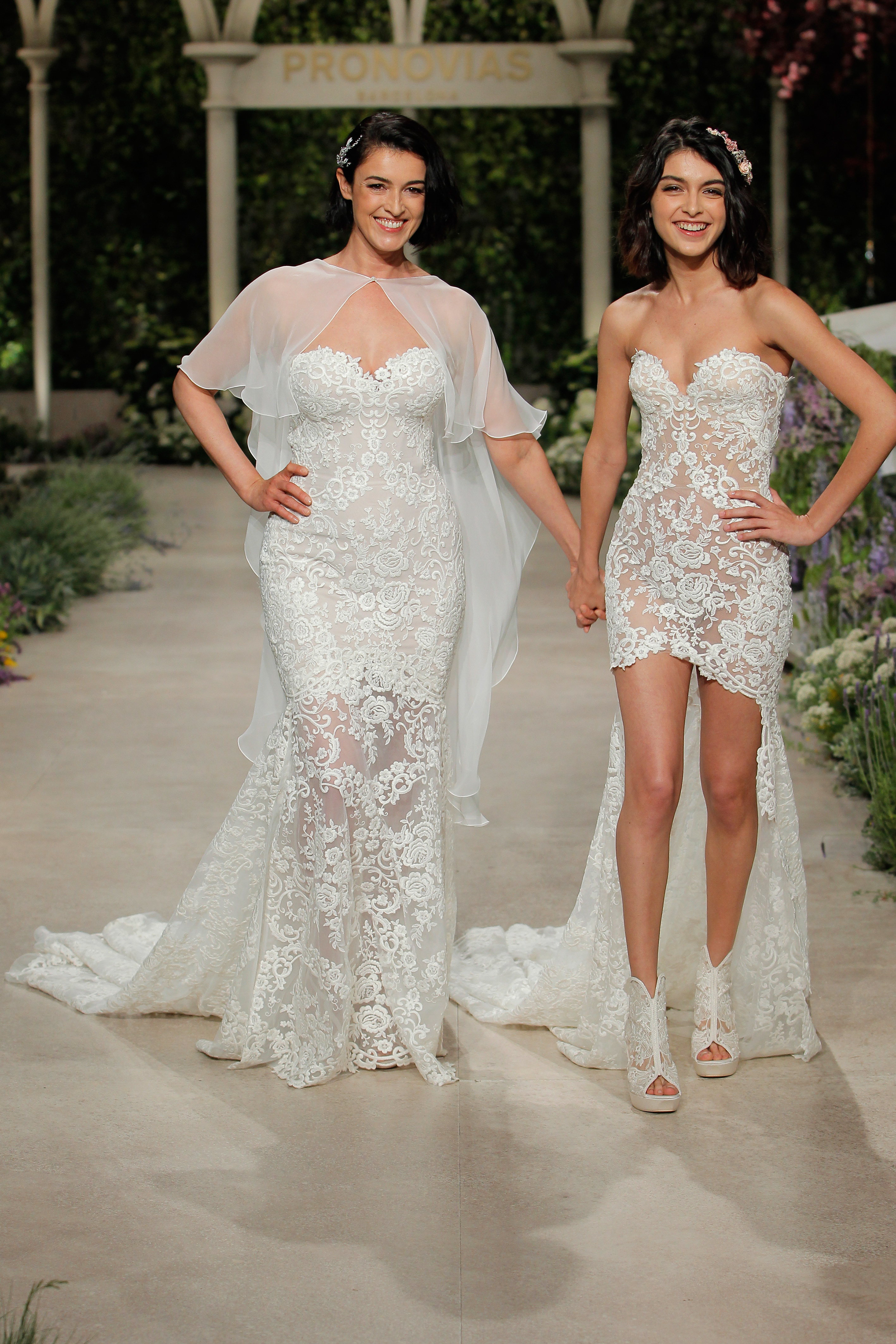 pronovias wedding dress spring 2019 embroidered dresses sweetheart