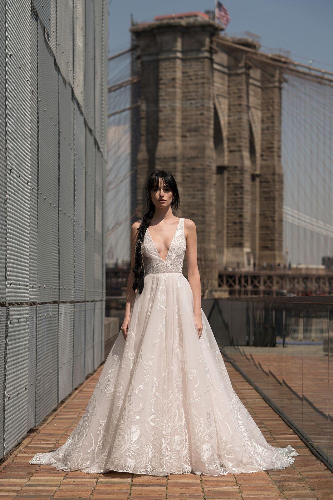 "alyne by rita vinieris ""davis"" wedding dress spring 2019"