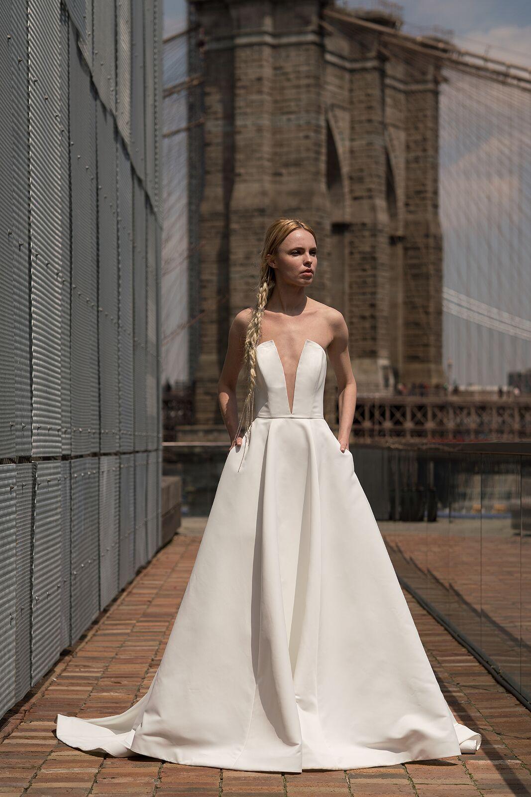 "alyne by rita vinieris ""blanchett"" wedding dress spring 2019"