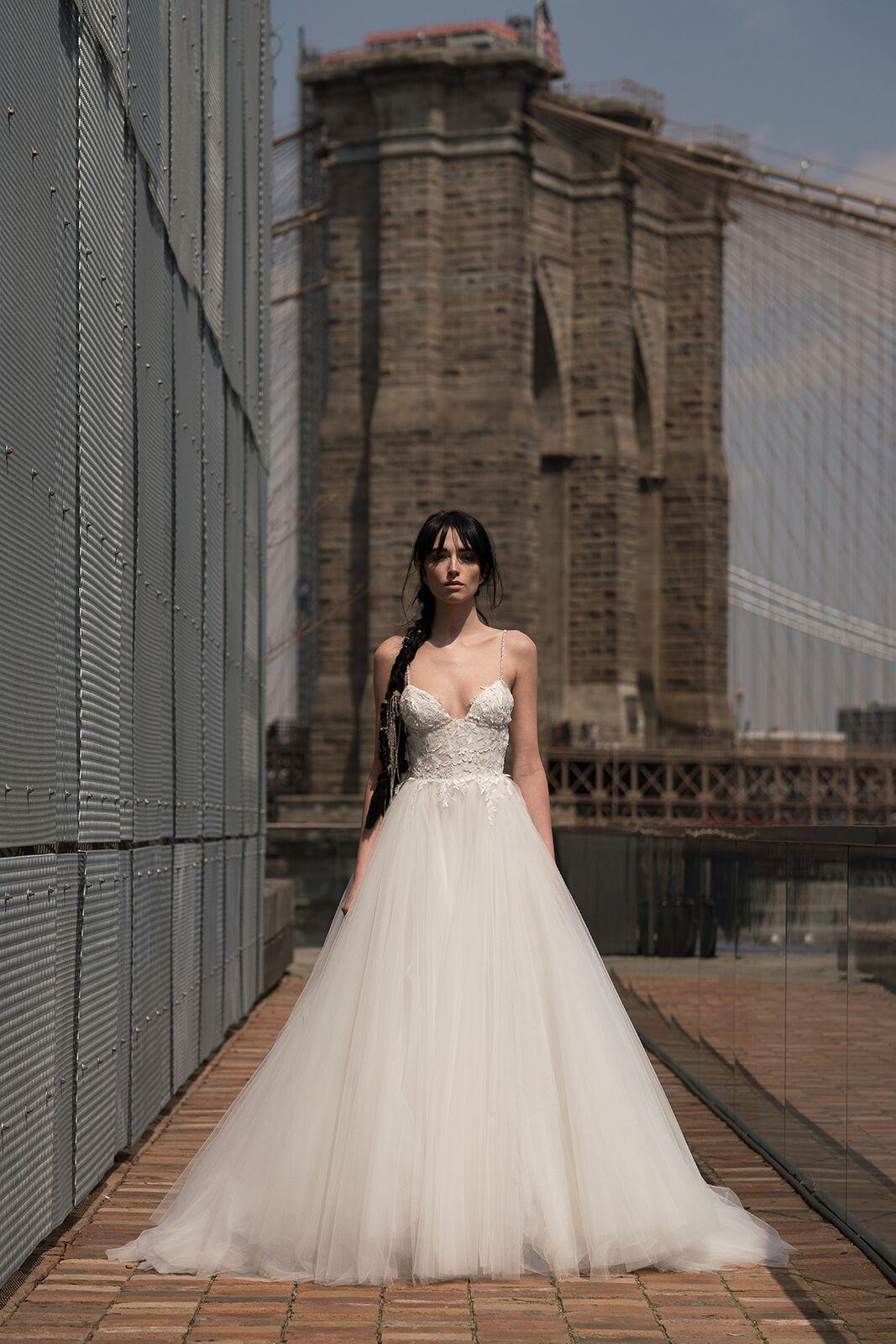 "alyne by rita vinieris ""kahlo"" wedding dress spring 2019"