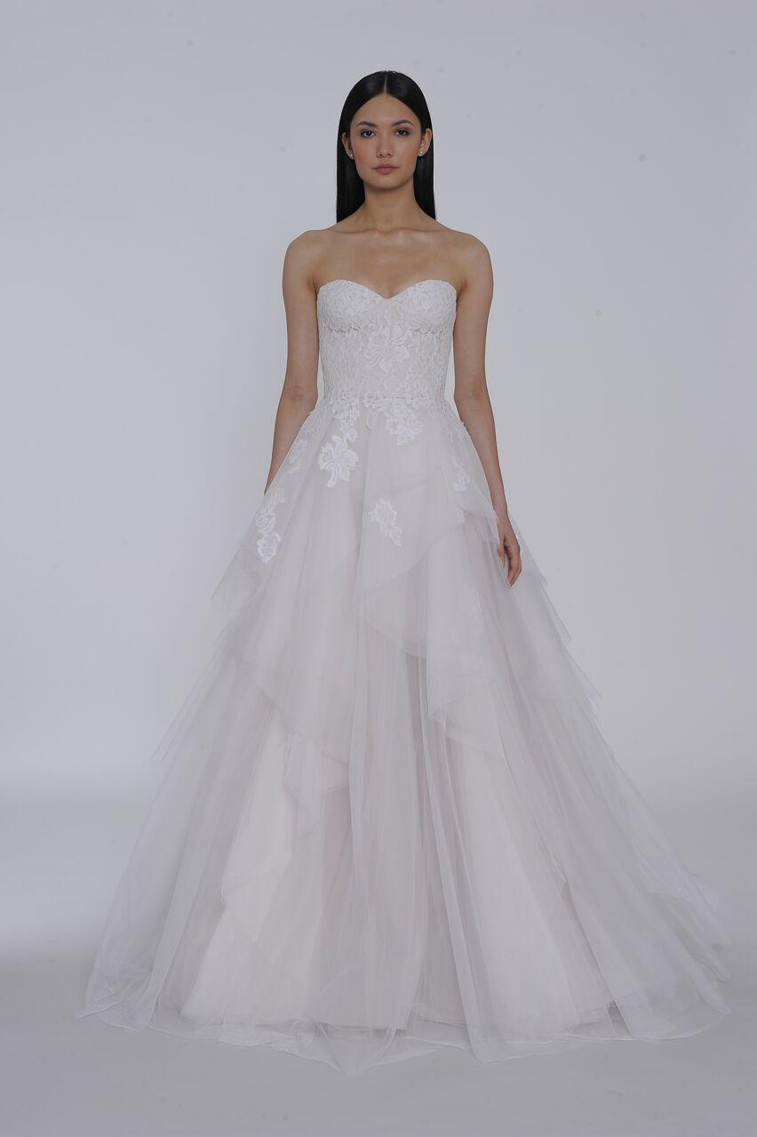 allison webb wedding dress spring 2019 tulle strapless