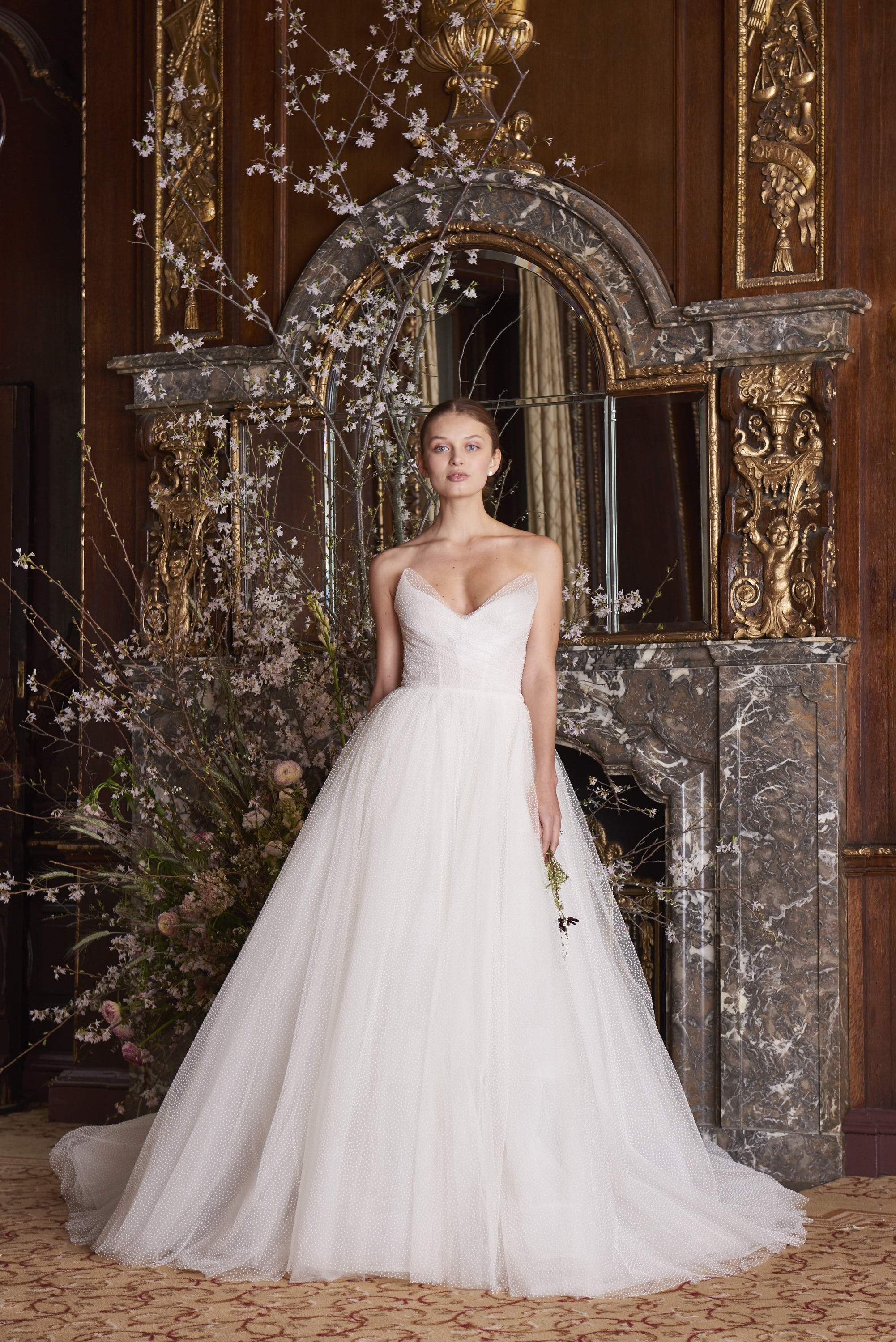 Monique Lhuillier Spring 2019 Wedding Dress Collection Martha