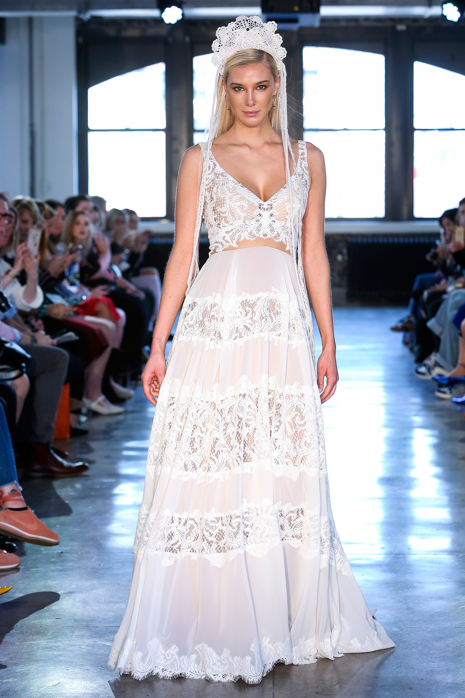 willowby watters wedding dress spring 2019 v-neck lace panels