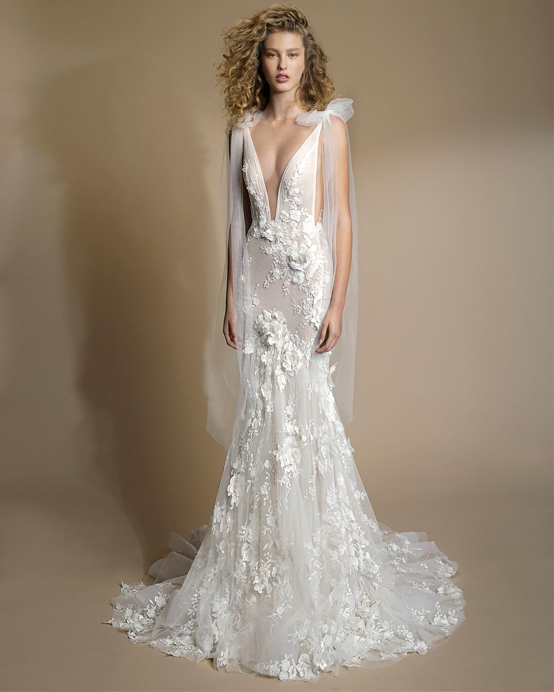 galia lahav gala wedding dress spring 2019 lace v-neck mermaid
