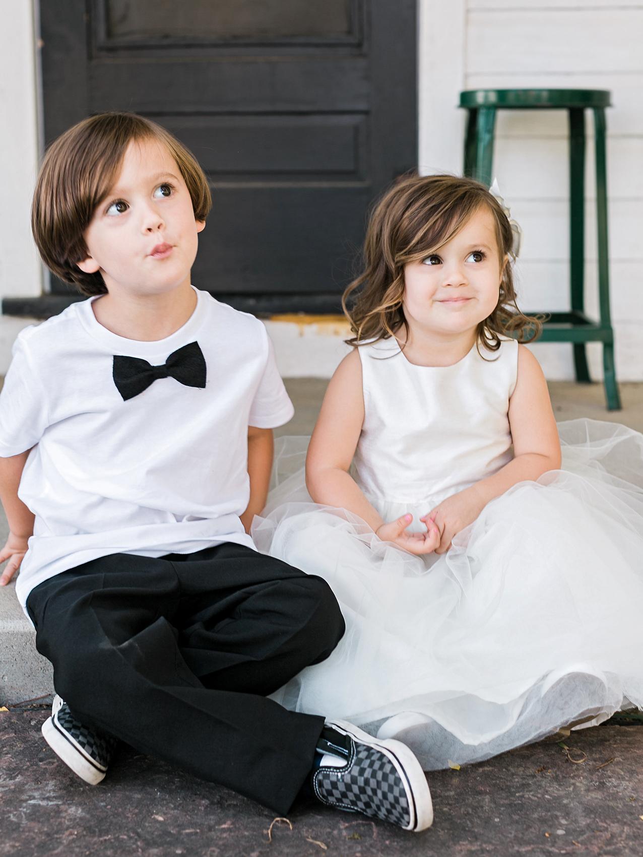 jamie jon wedding little boy and girl