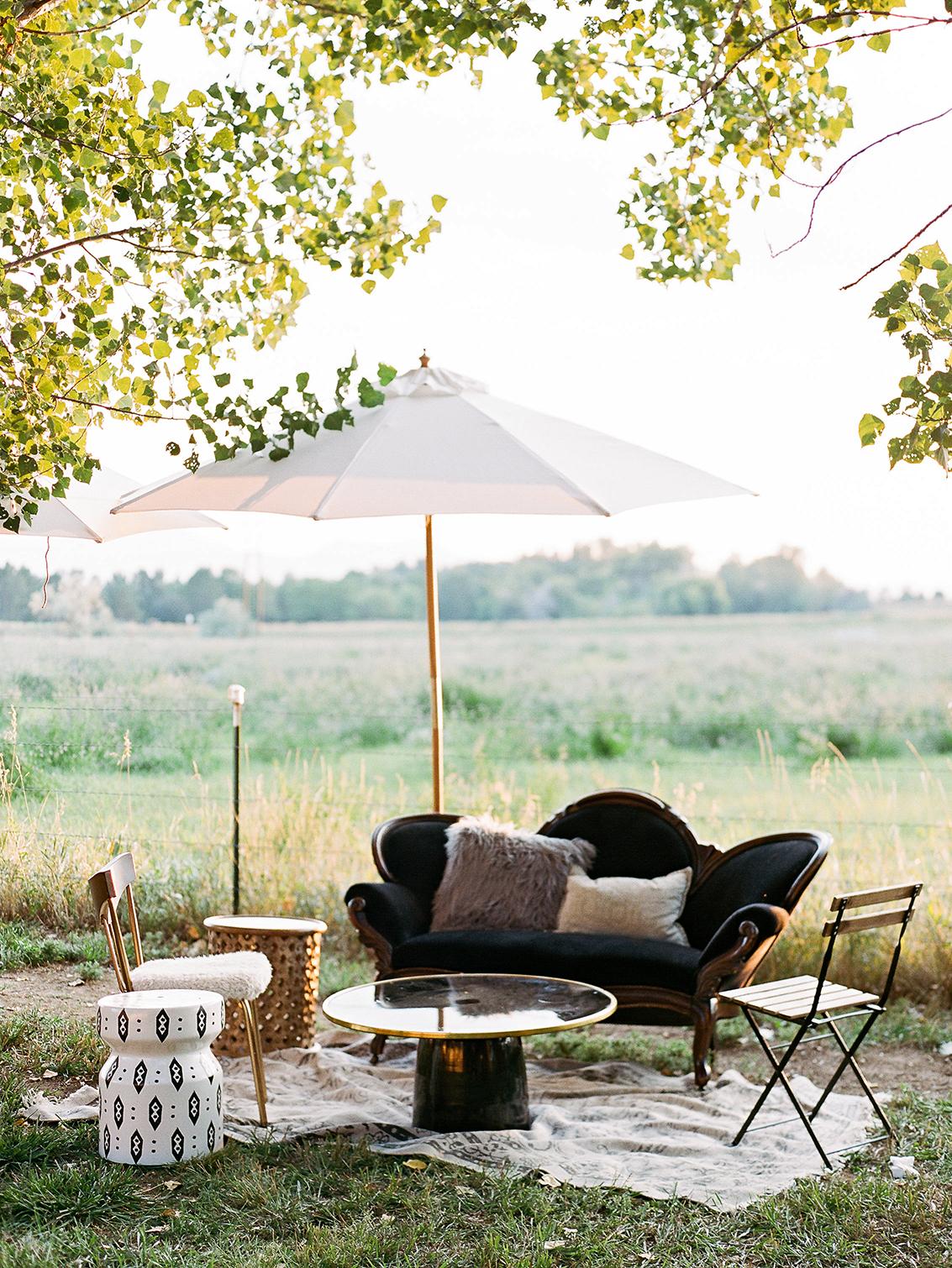 jamie jon wedding outdoor lounge area