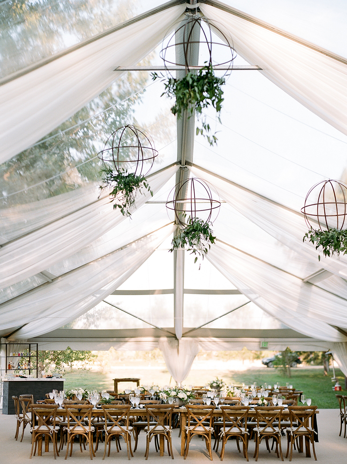 jamie jon wedding reception tent