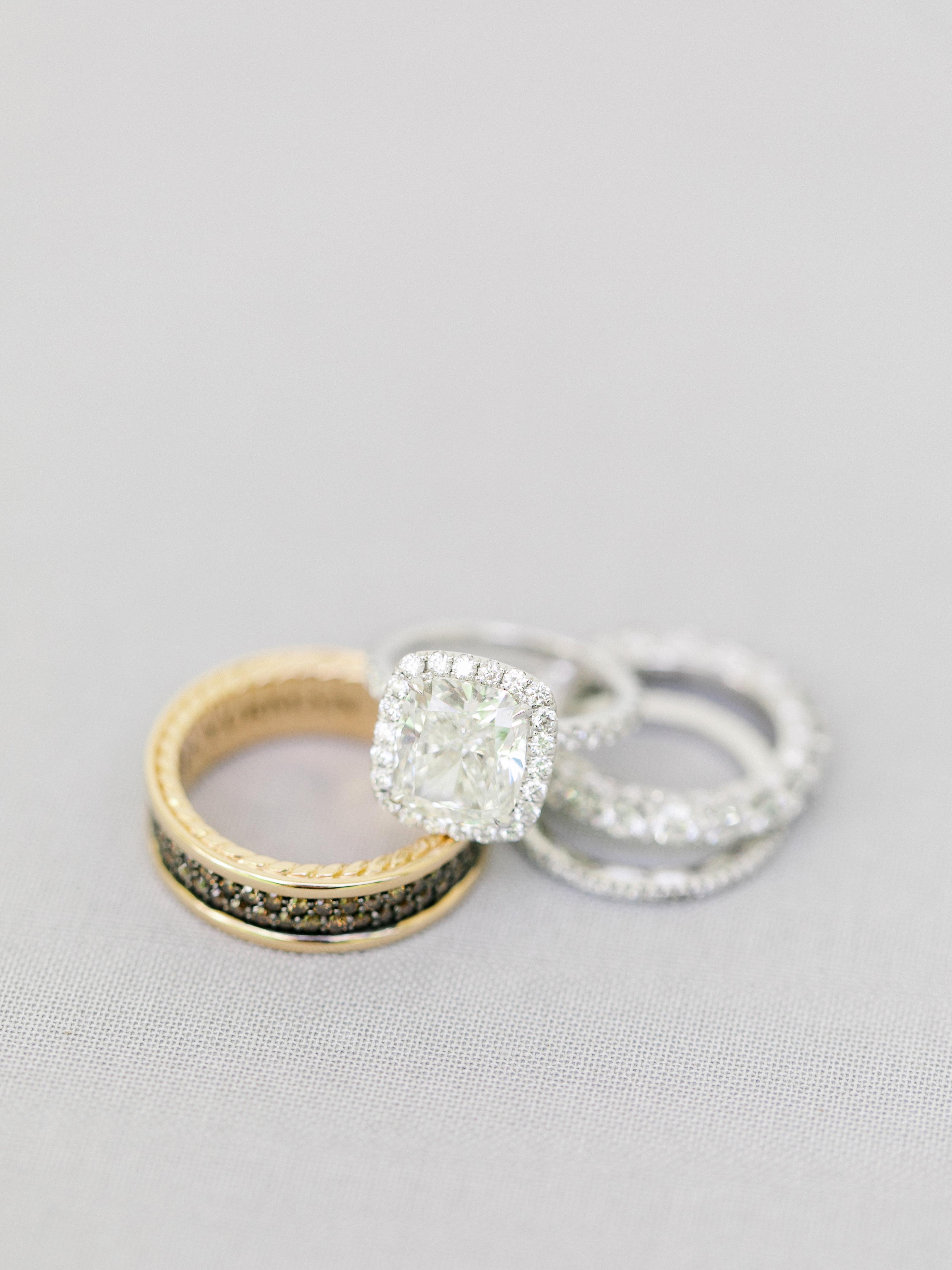 kourtney justin wedding mexico rings
