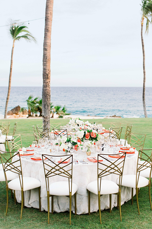 kourtney justin wedding mexico table