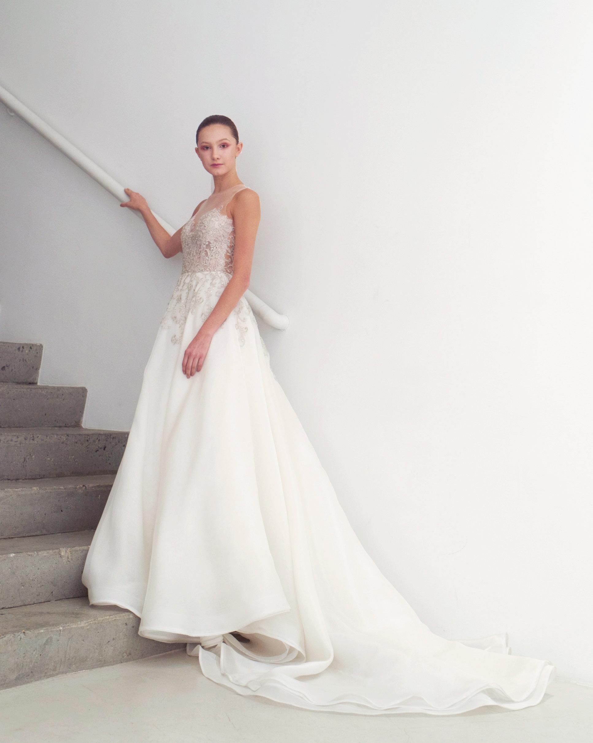 Francesca Miranda Spring 2019 Wedding Dress Collection Martha