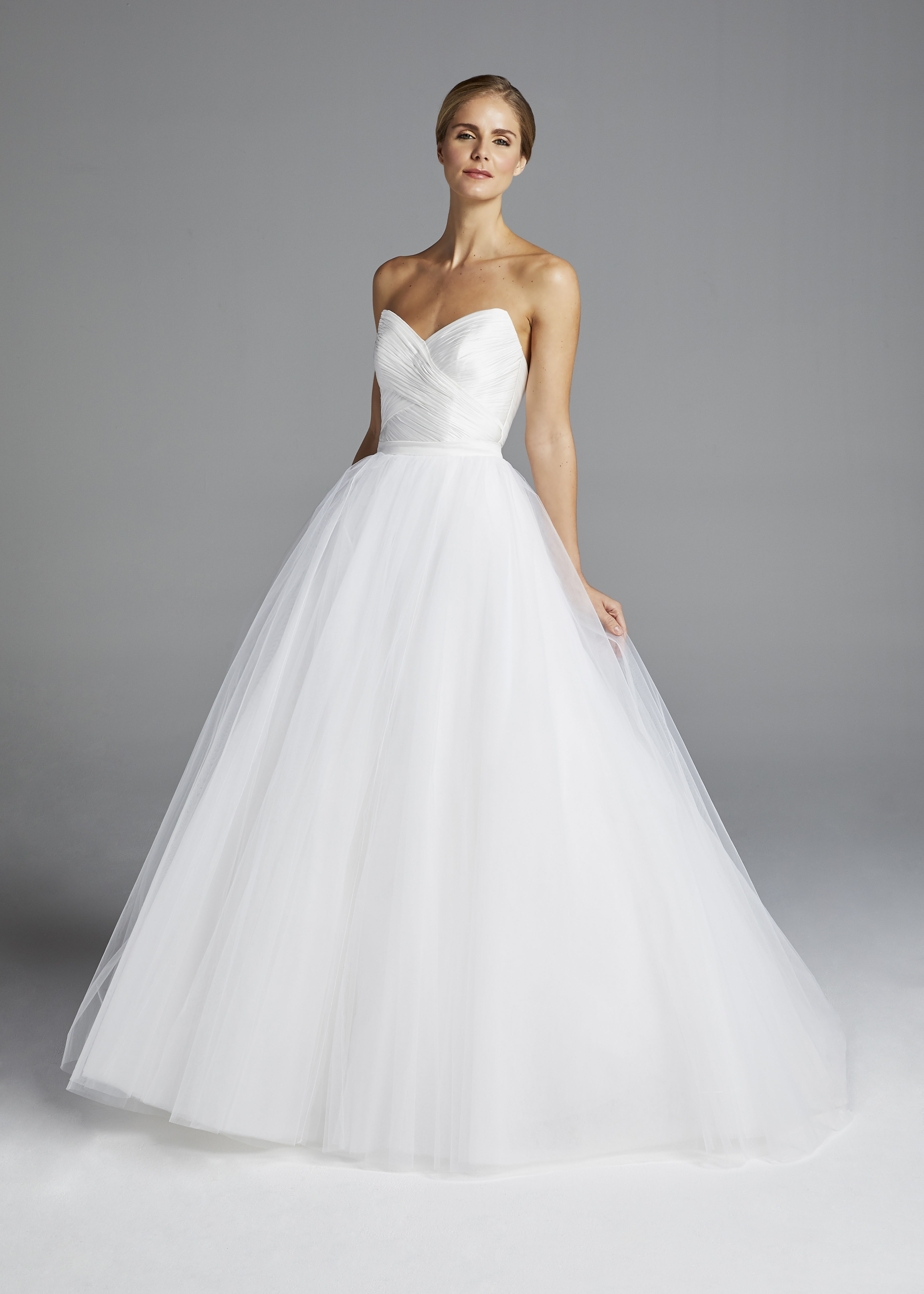 anne barge strapless sweetheart wedding dress spring 2019