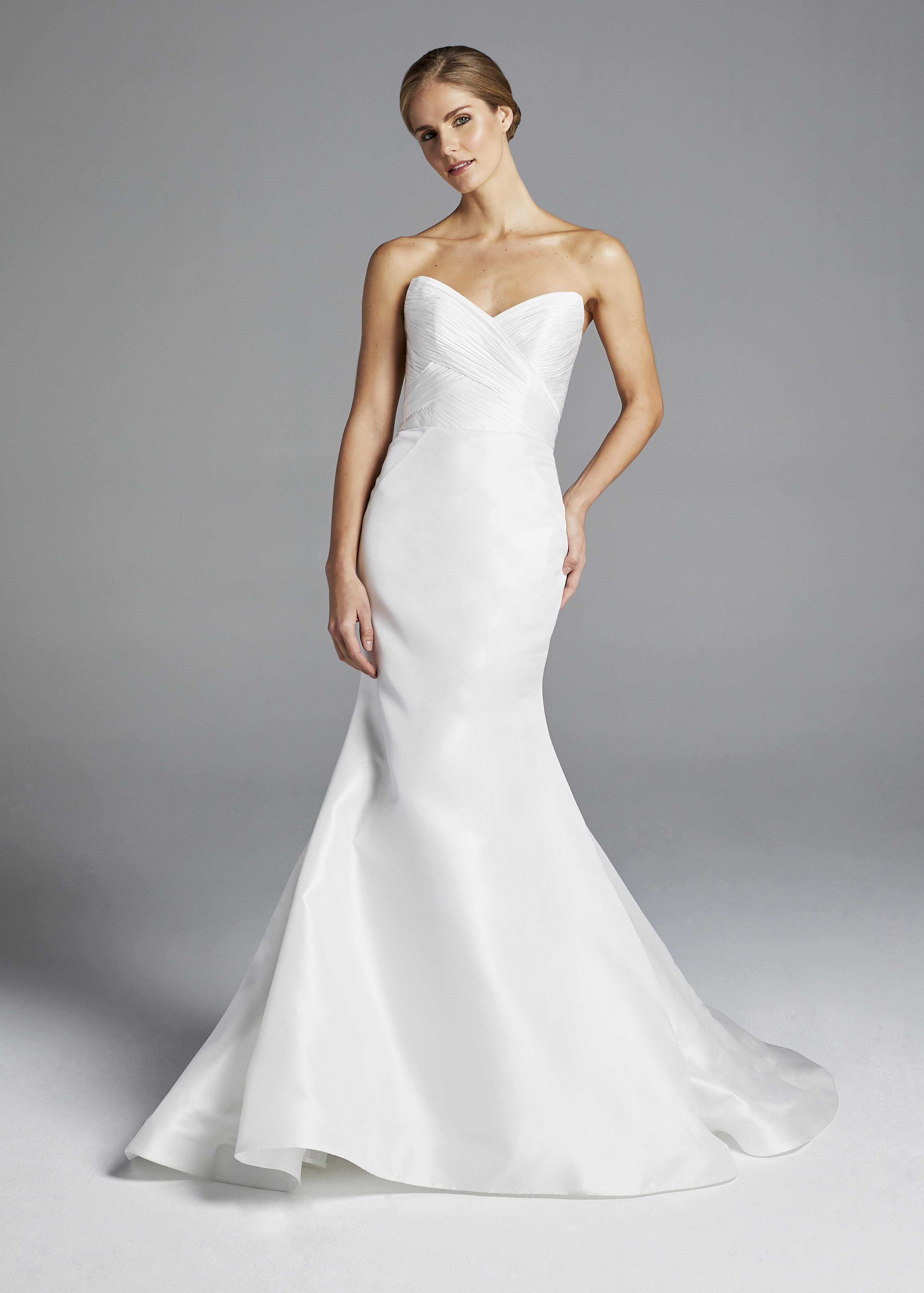 anne barge strapless mermaid wedding dress spring 2019