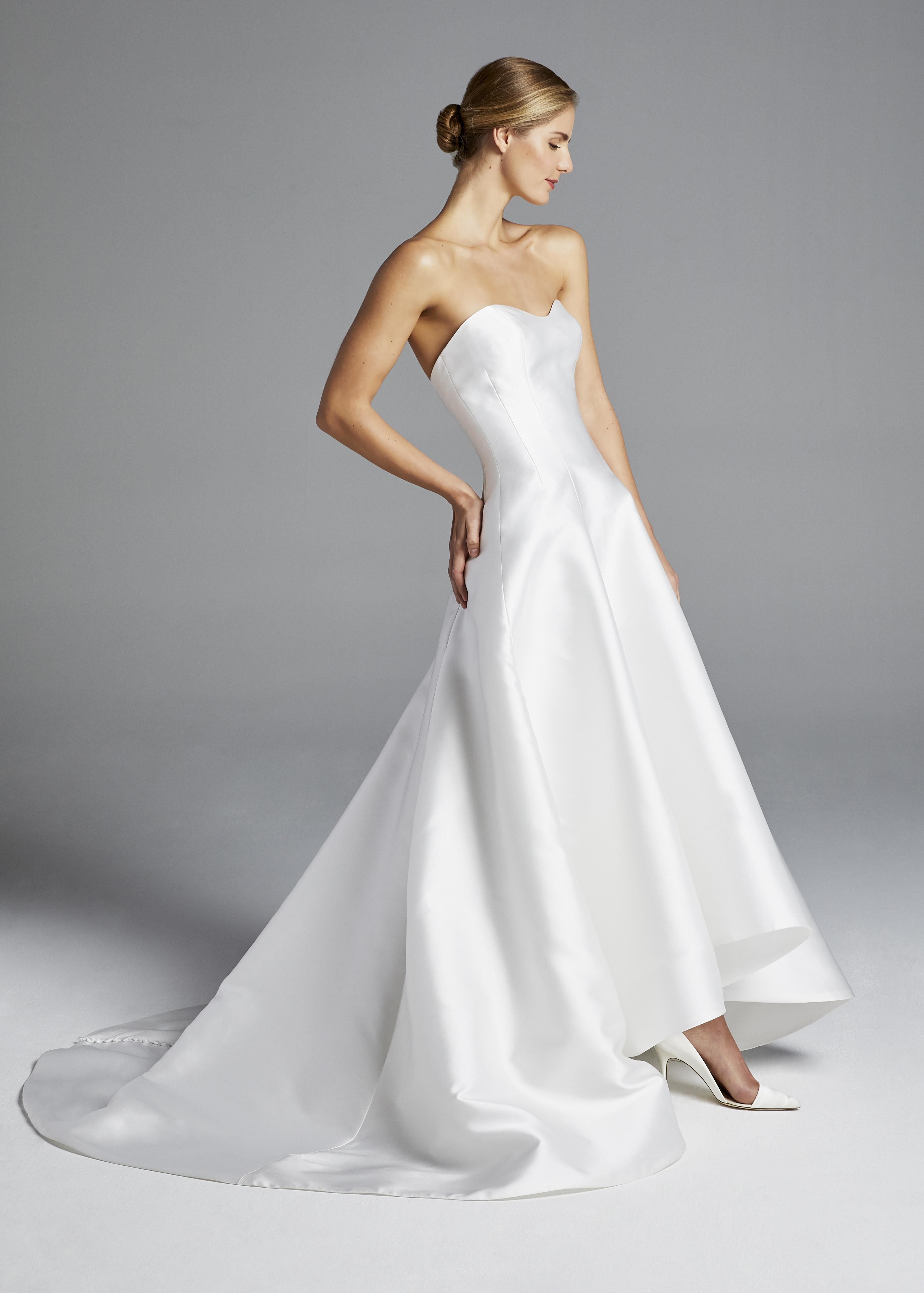 anne barge satin sweetheart wedding dress spring 2019