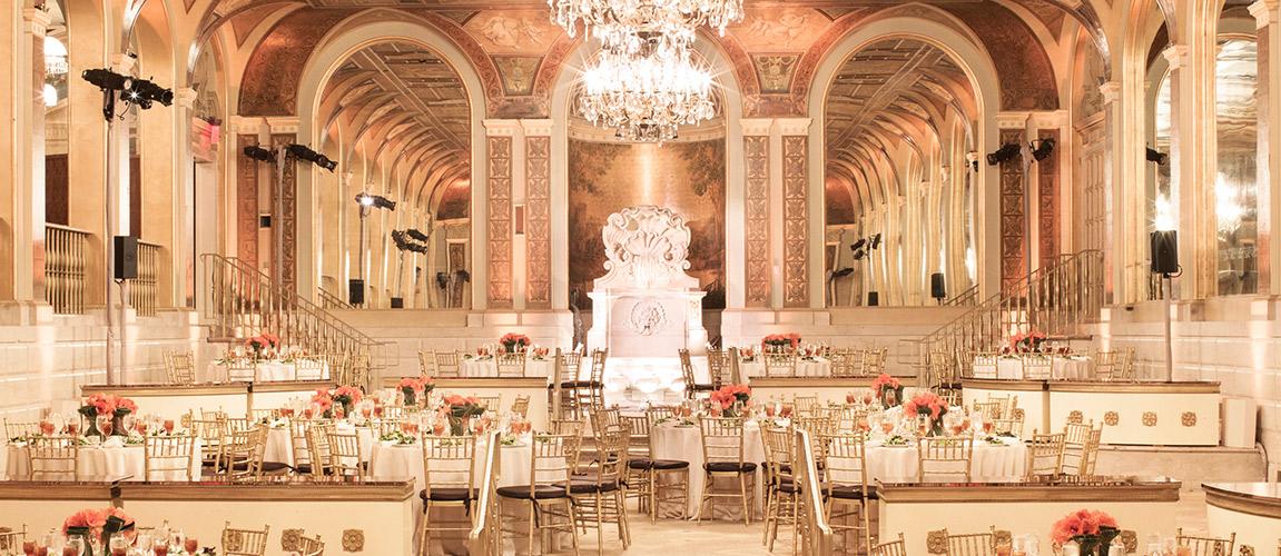 plaza rom com wedding venue