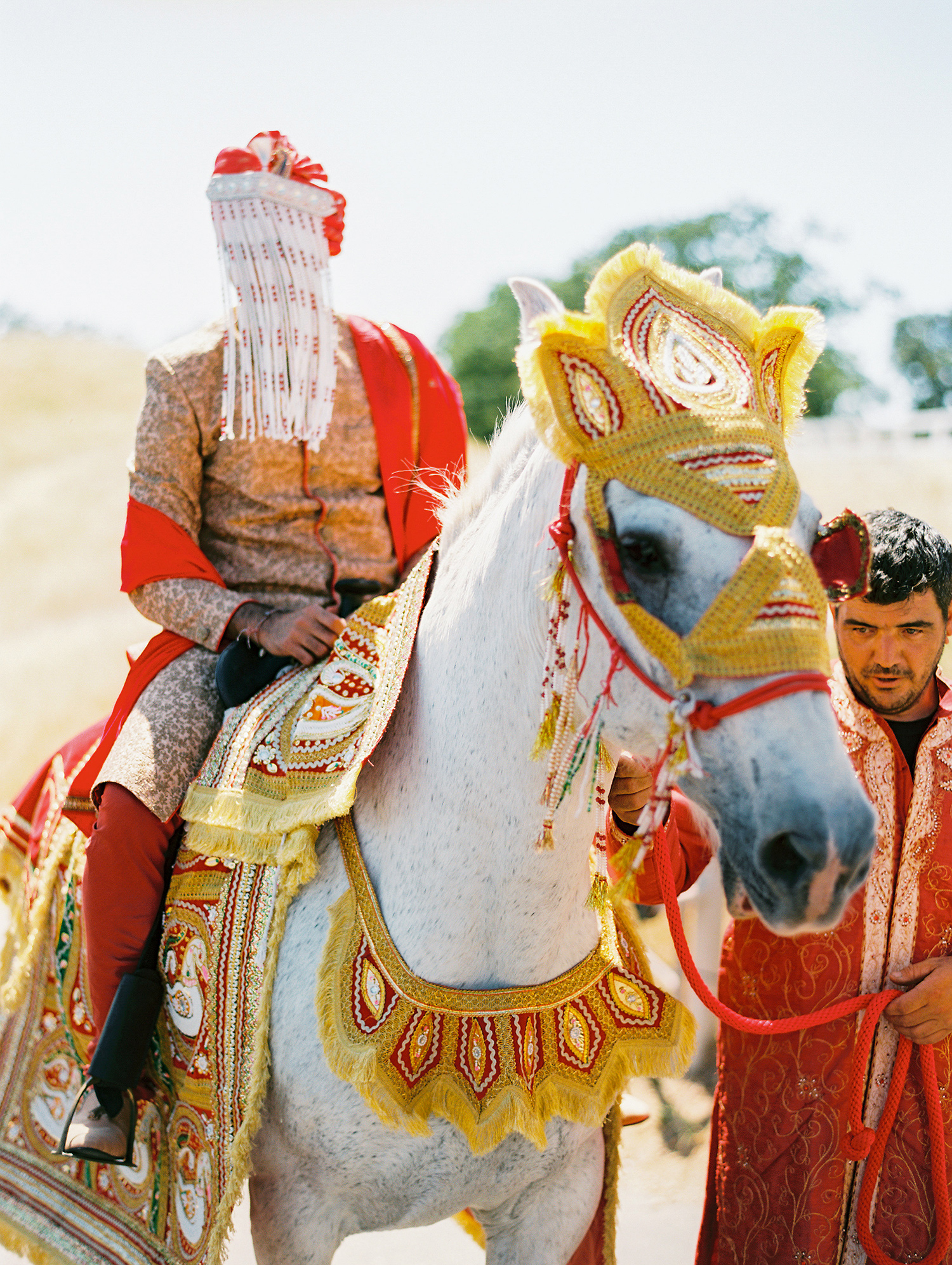 caitlin amit indian wedding groom baraat